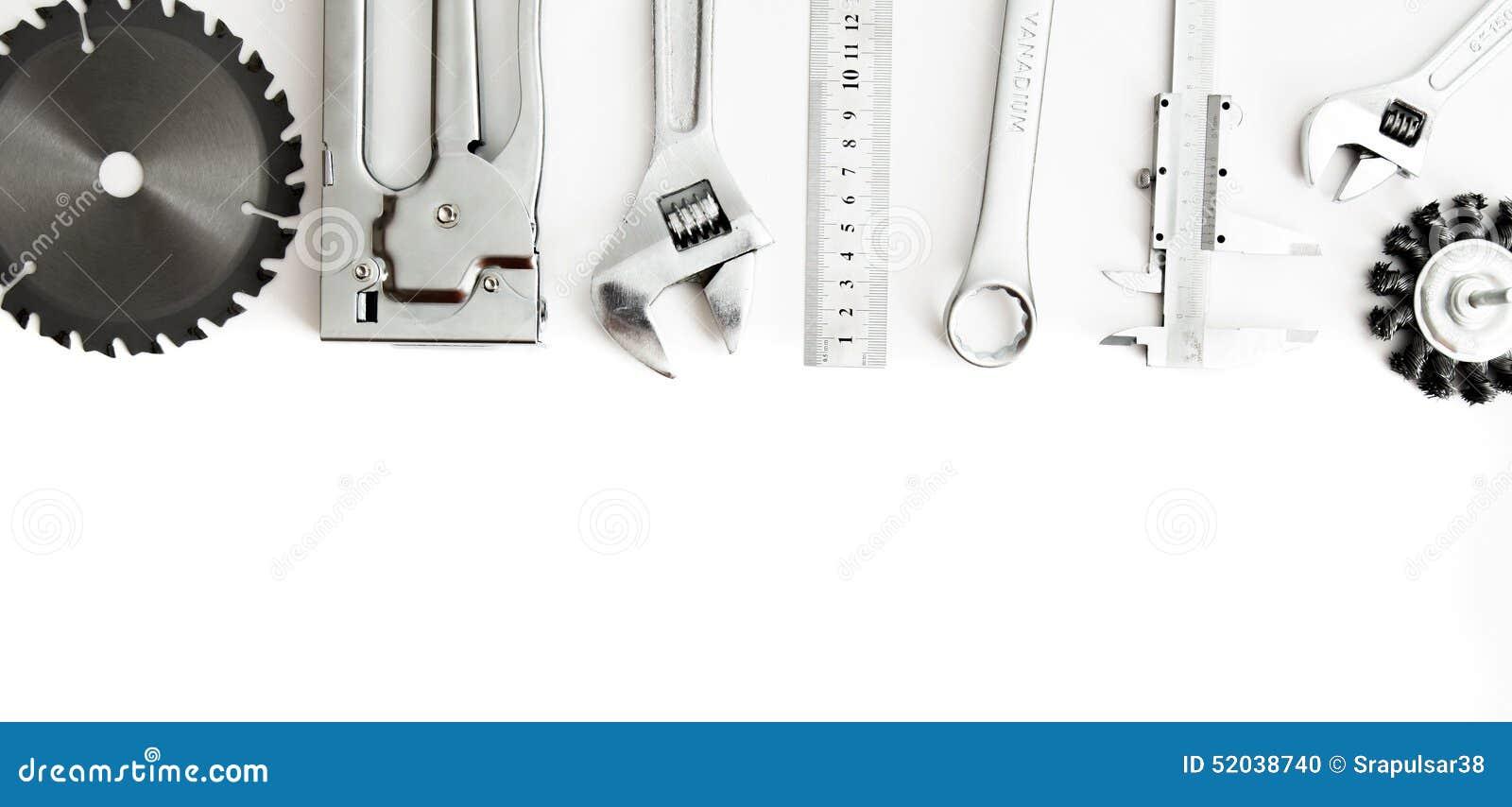Metalwork Agrafeuse, scie, clé et d autres outils