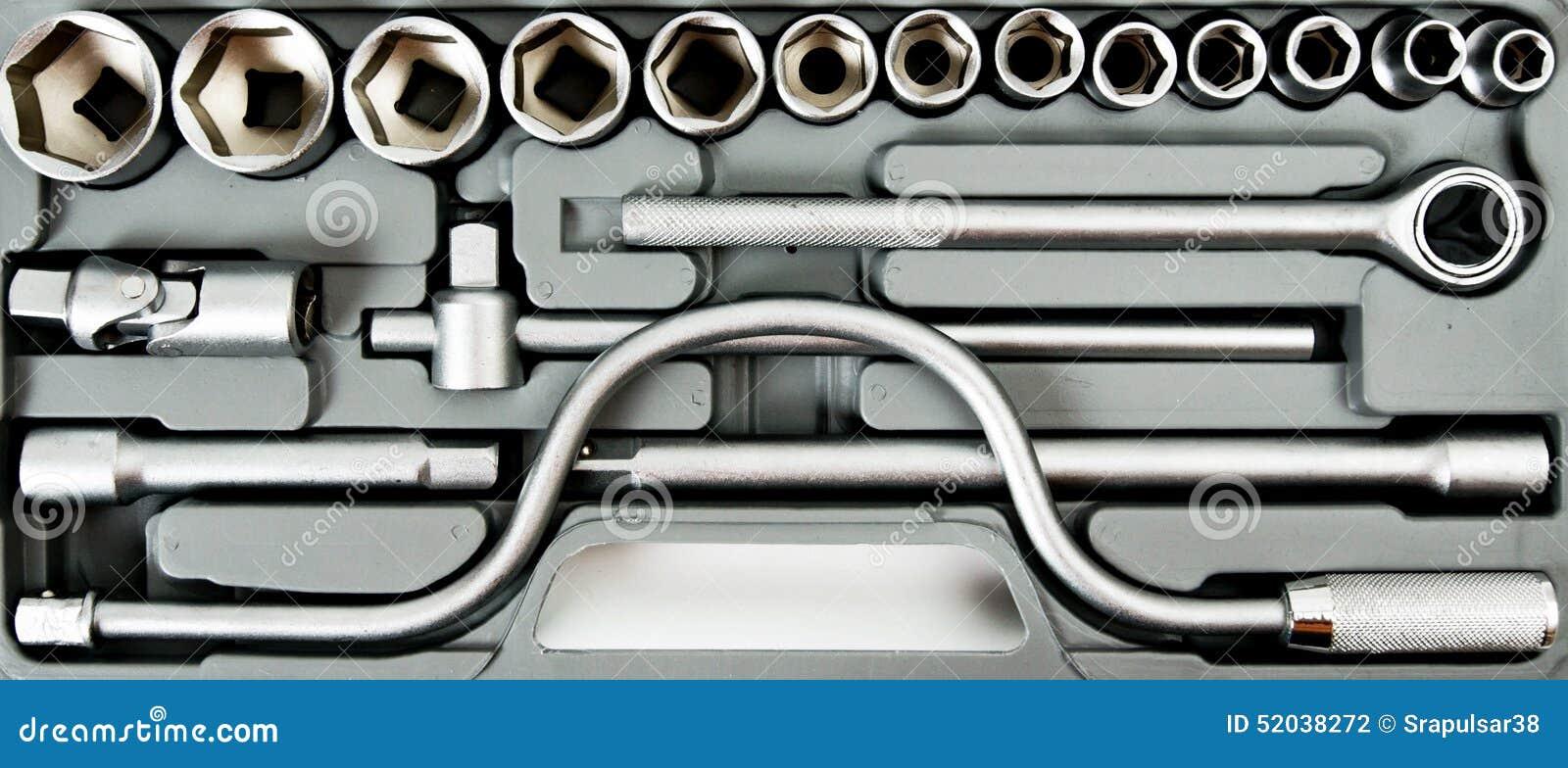 Metalwork Boîte avec des clés