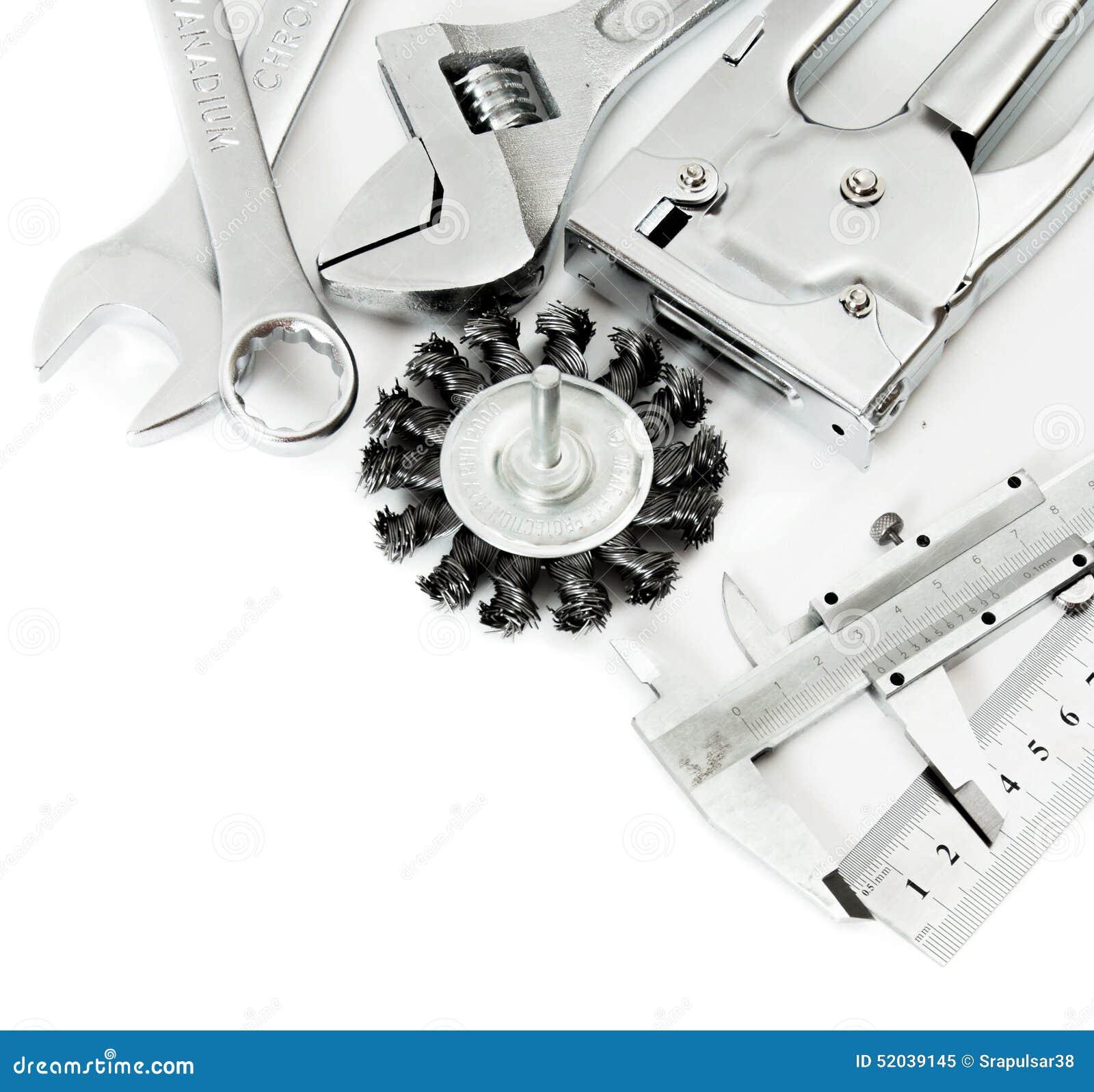 Metalwork Règle, calibre et d autres outils dessus