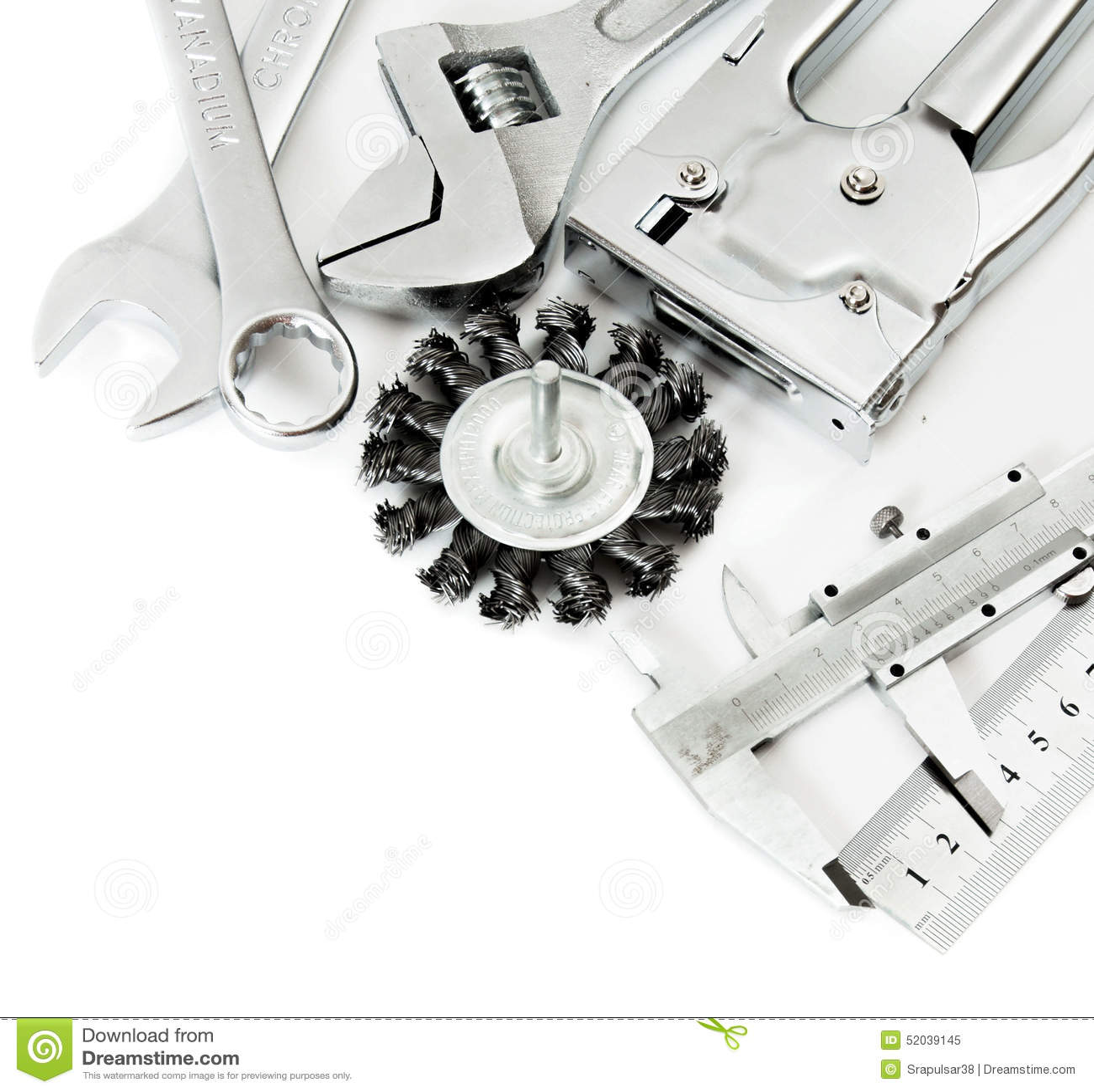 Metalwork Regla, calibrador y otros herramientas encendido