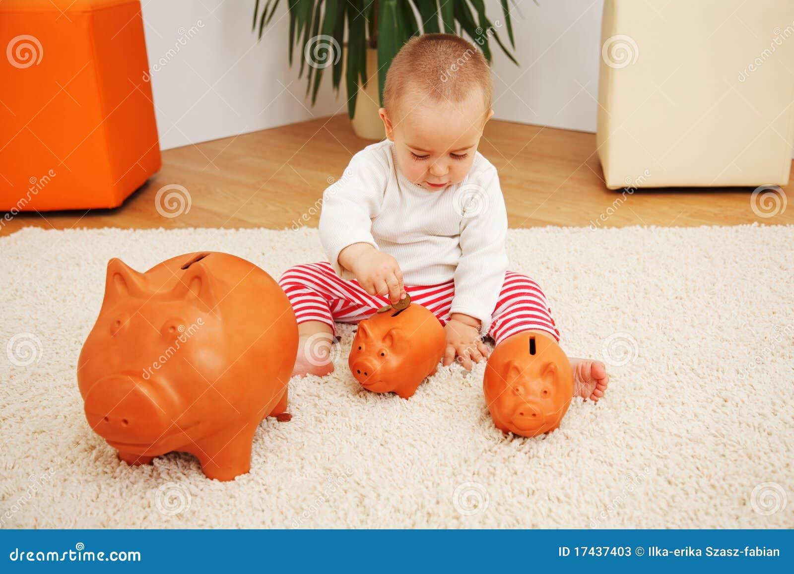 Metaphorische frühe Sparungen, Versicherung oder Investition