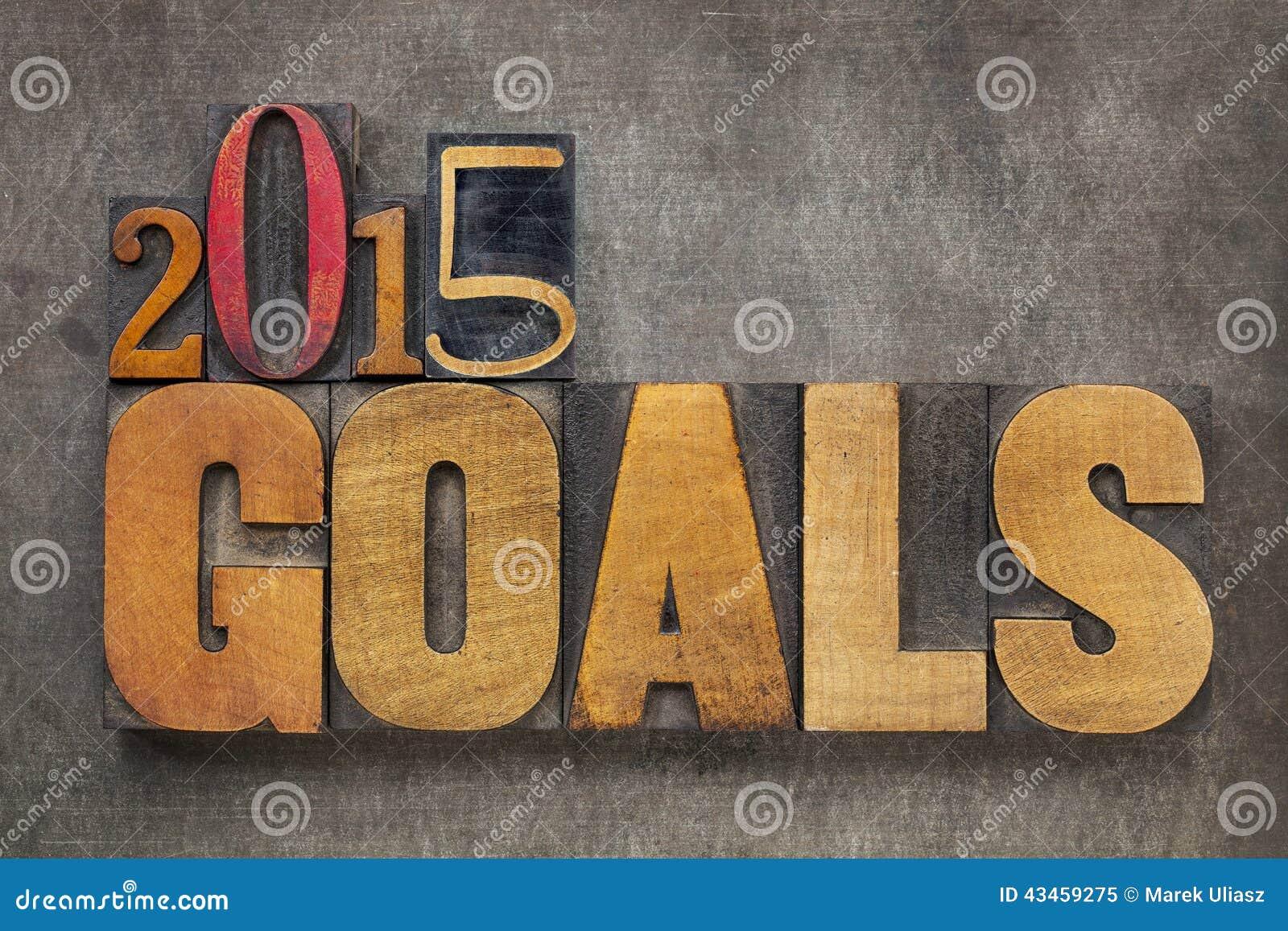 2015 metas en el tipo de madera
