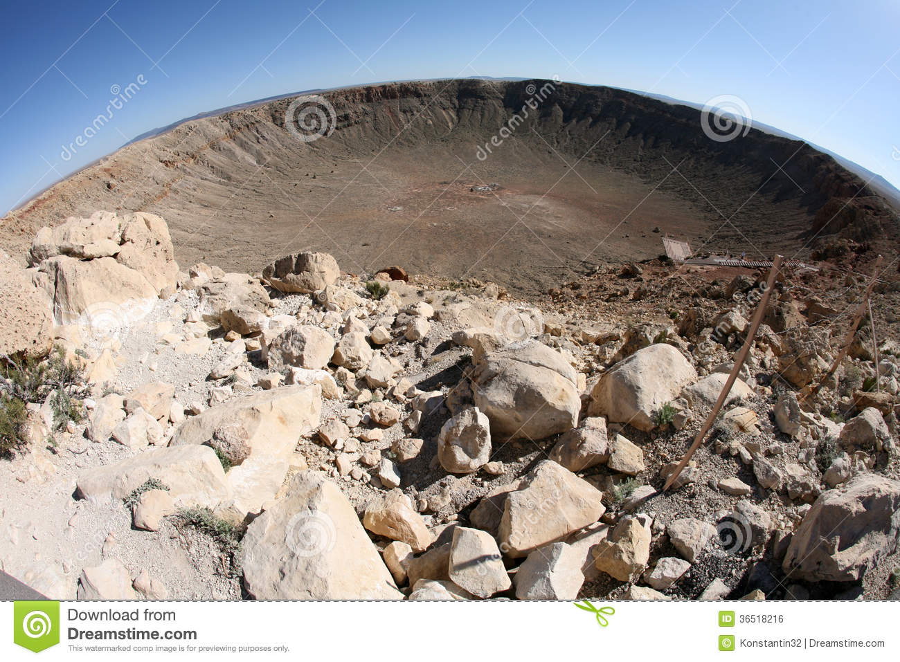 Winslow (AZ) United States  City pictures : Meteor Impact Crater Winslow Arizona USA Royalty Free Stock Image ...