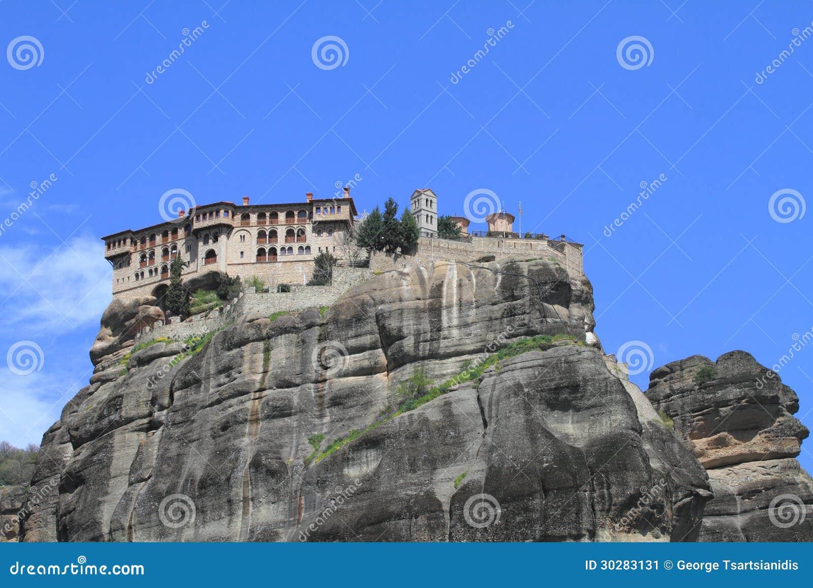 Meteora的古老修道院