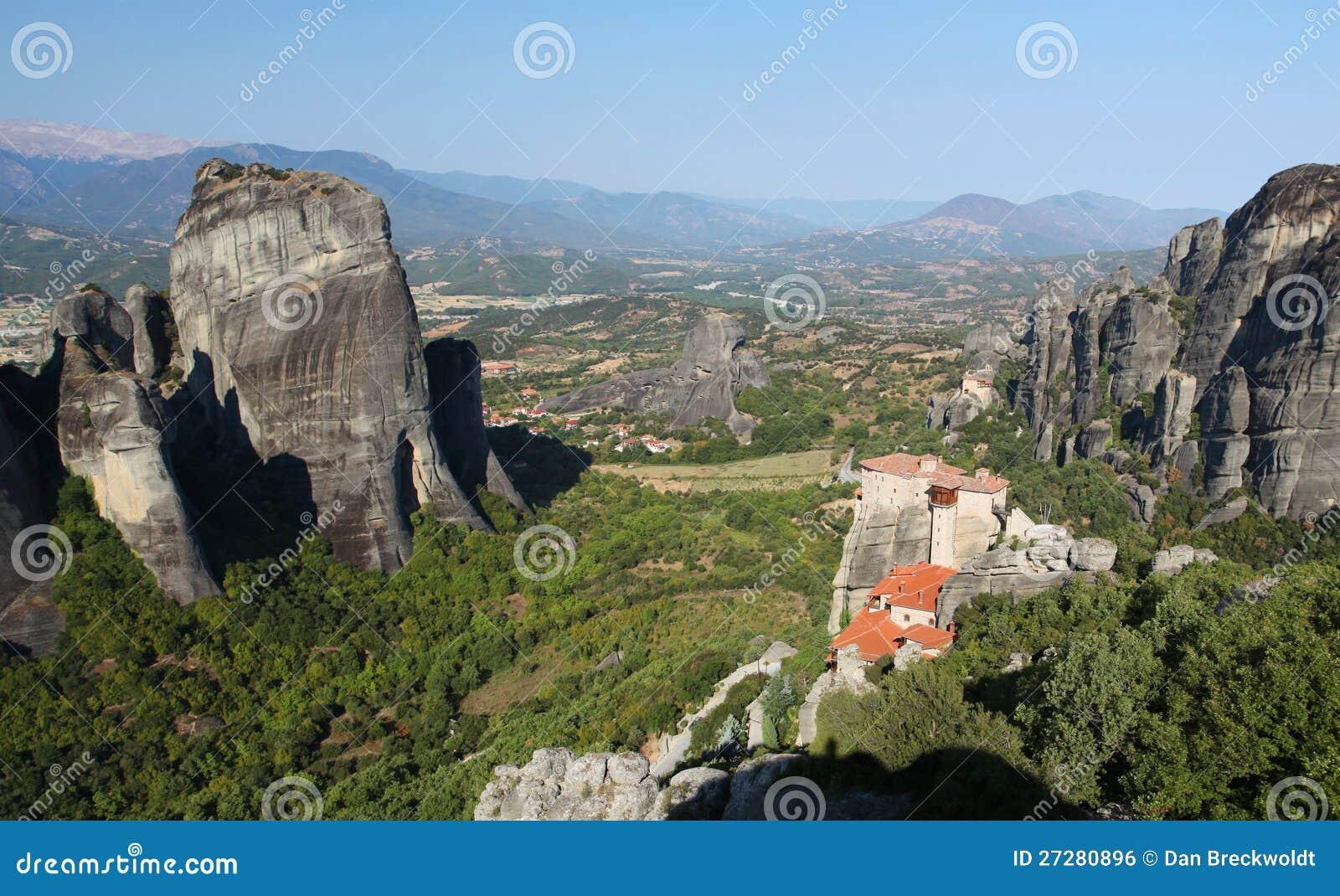 Meteora i Grekland