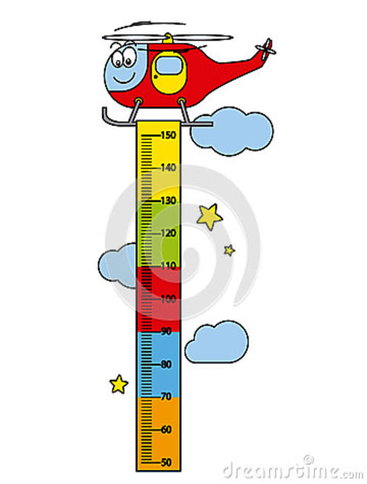 Power Meter Cartoon : Wall meter with three and wild animals cartoon