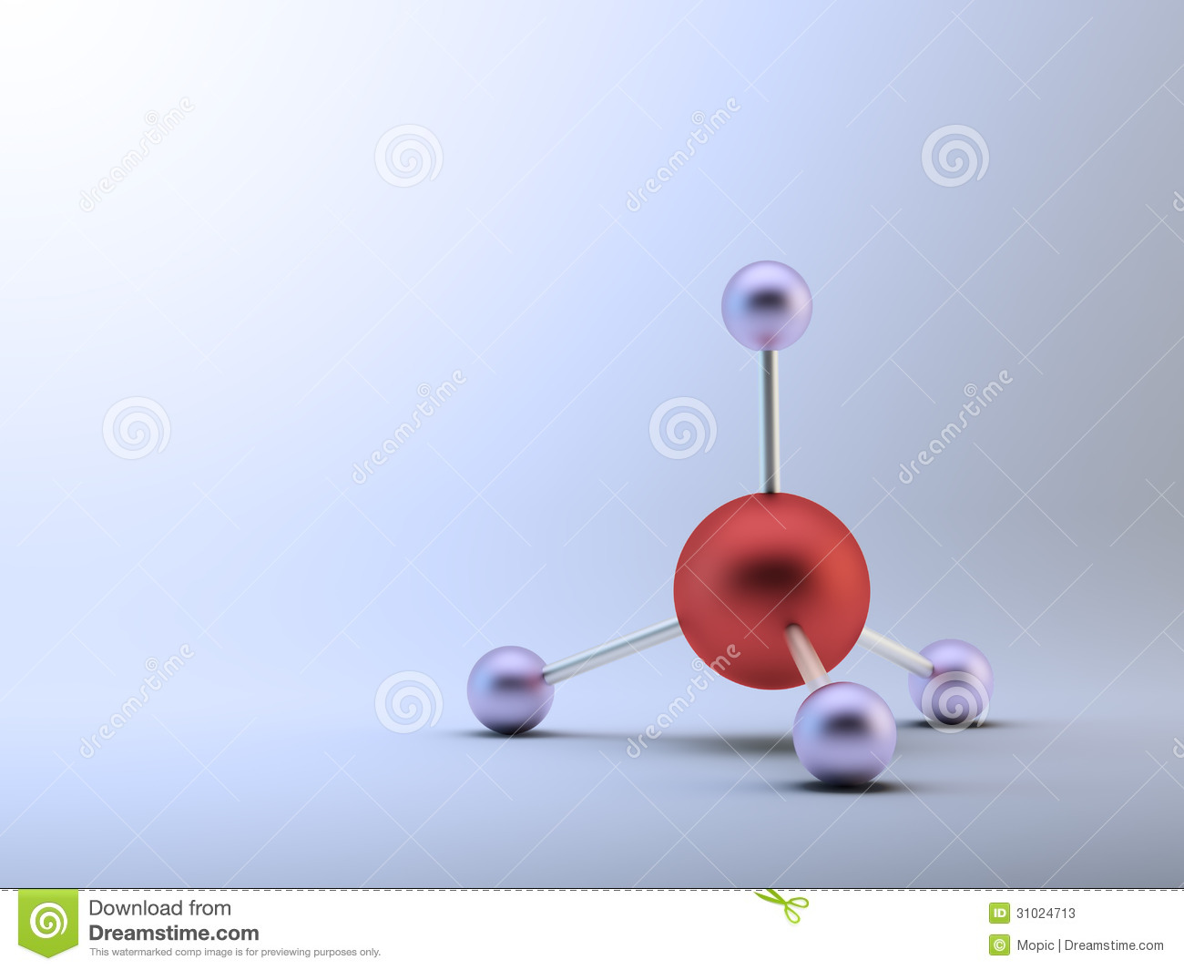 methane model stock photos image 31024713