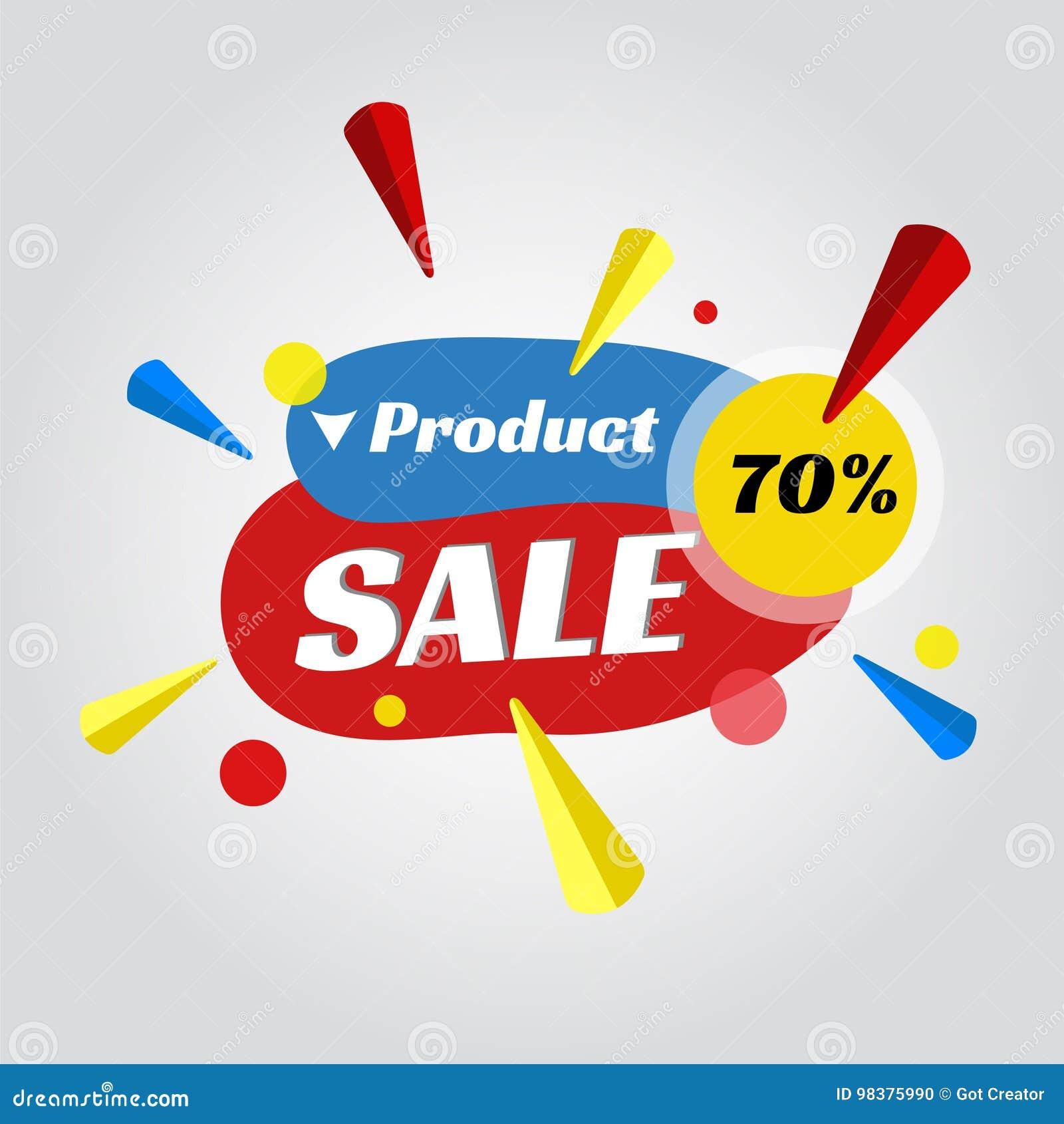 Metka dla sprzedaży promoci