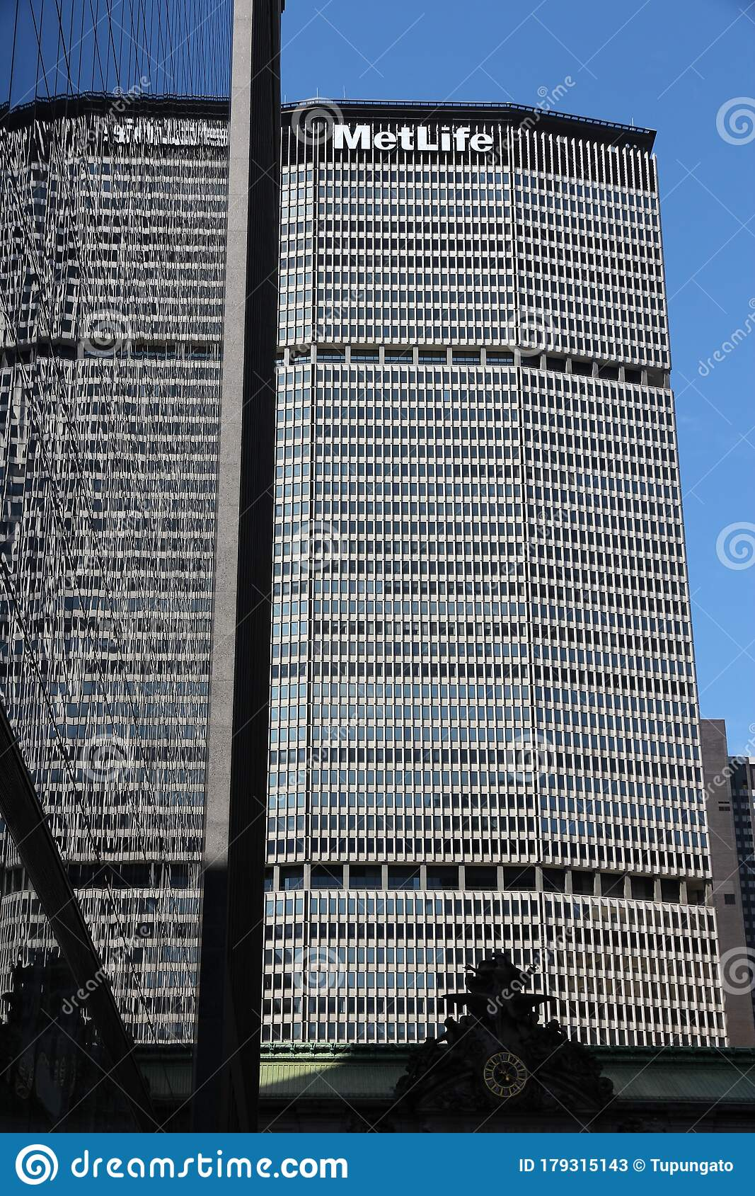 MetLife Building editorial stock photo. Image of america   10