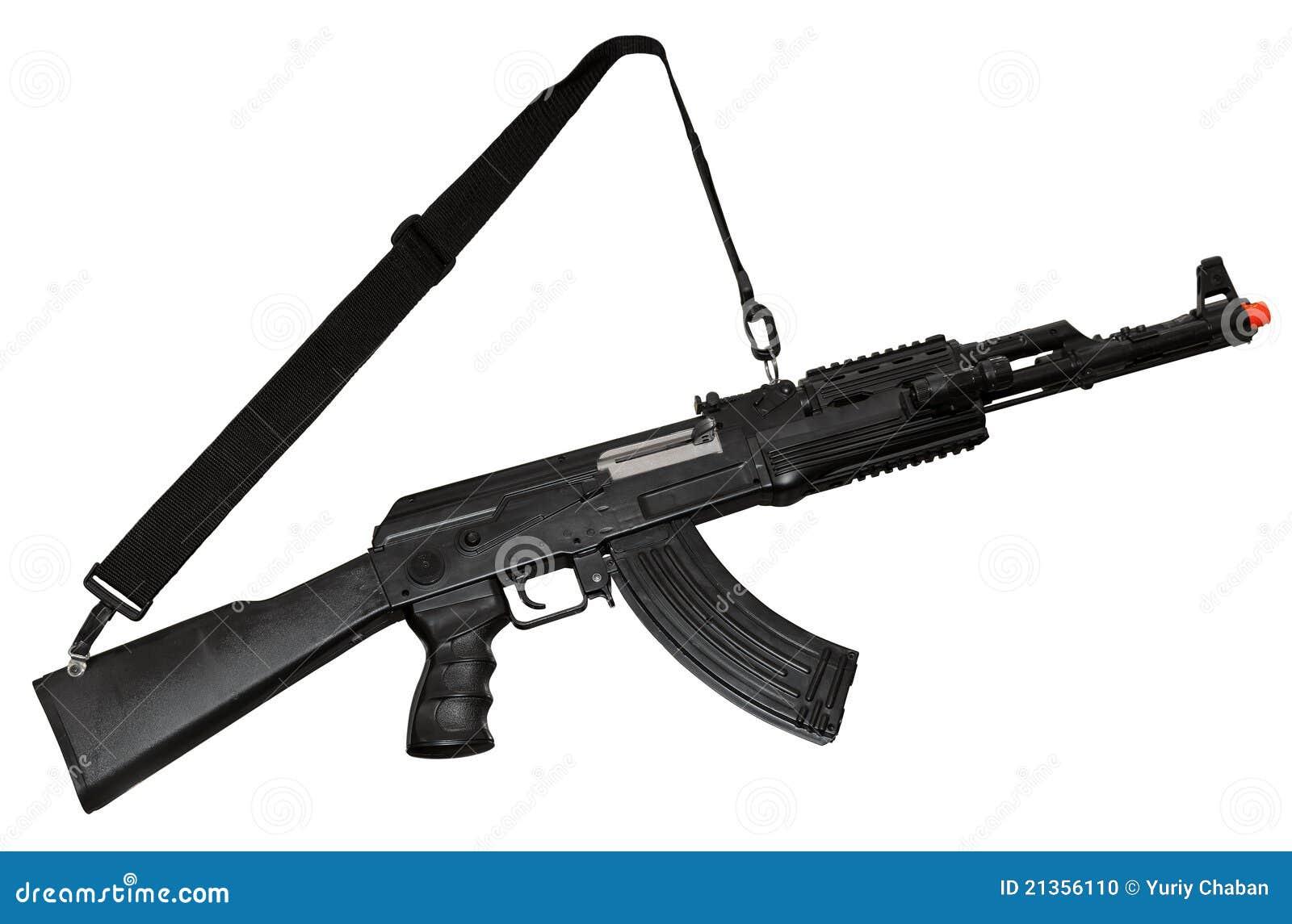 metralhadora de ak 47 do kalashnikov foto de stock imagem 21356110. Black Bedroom Furniture Sets. Home Design Ideas