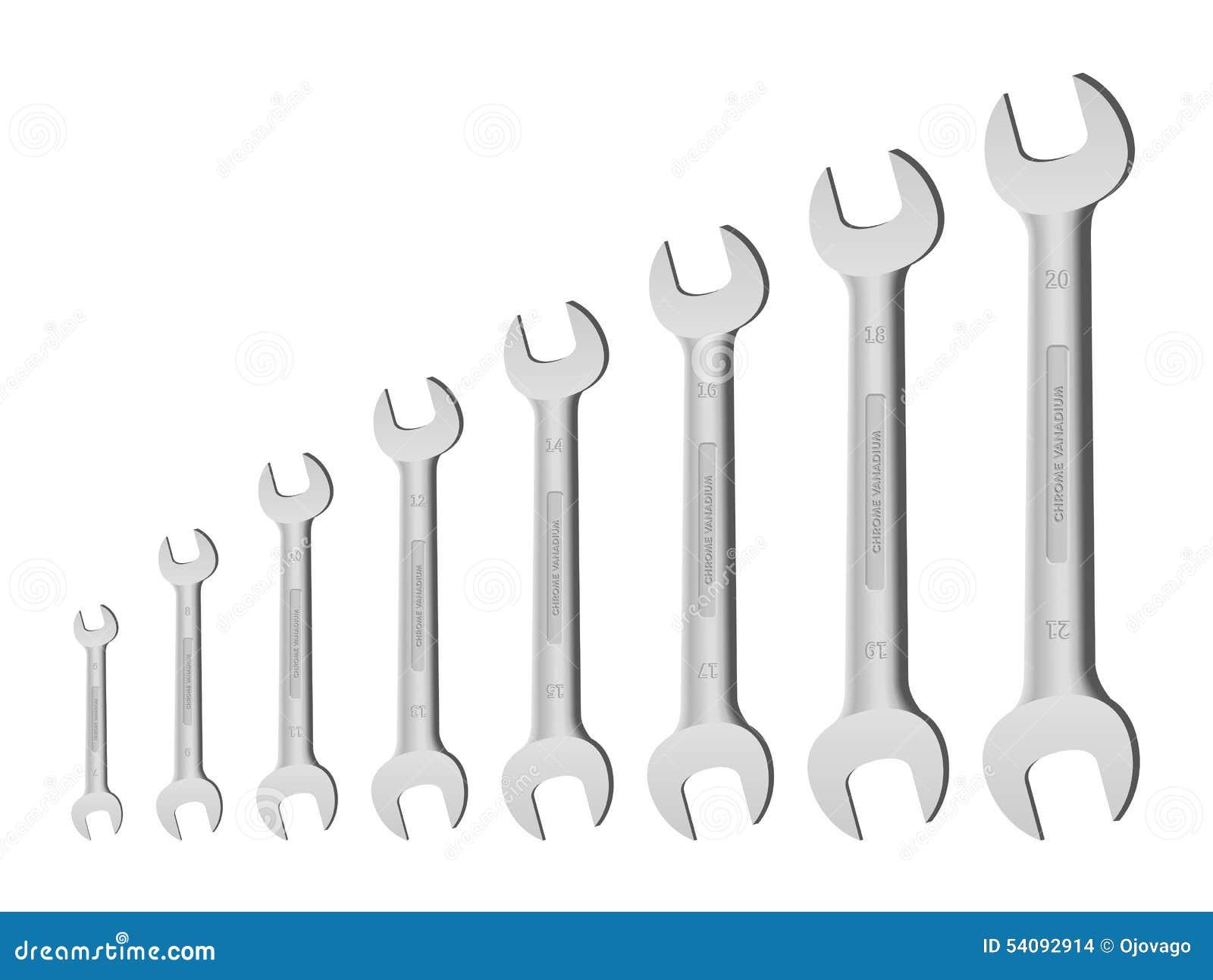 Metrische moersleutels