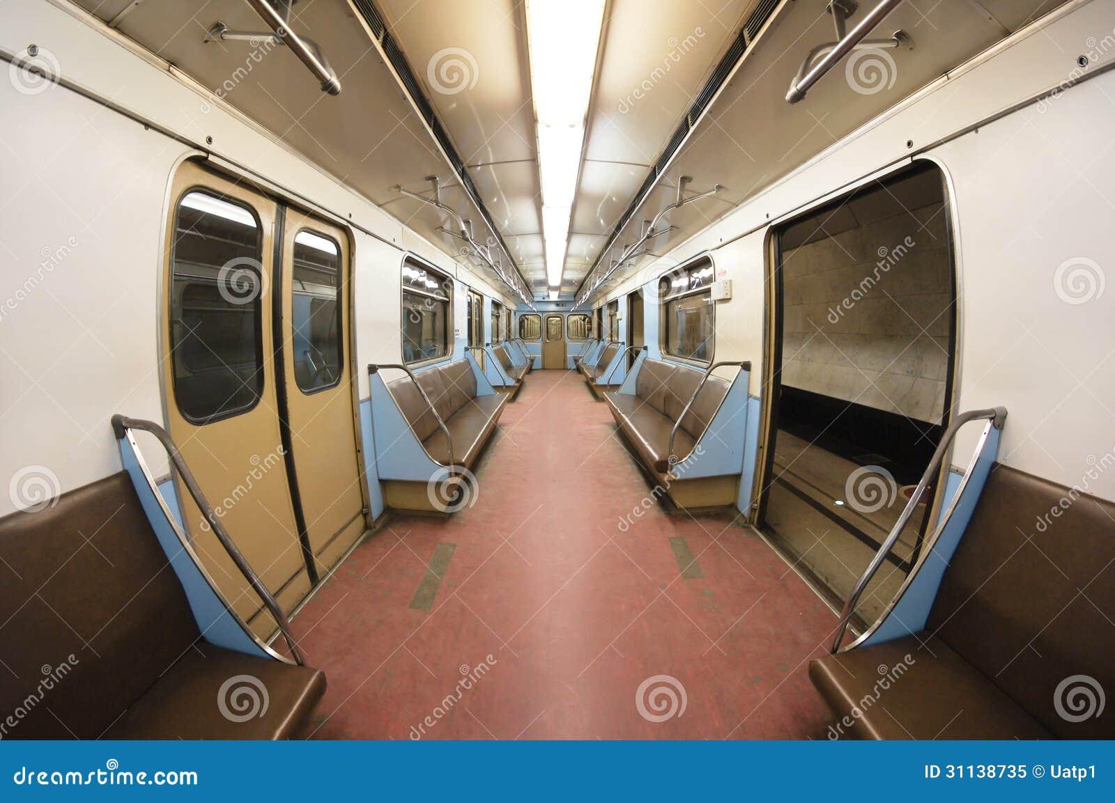 Metro carriage stock image image of passenger tube 31138735 - Carrage metro ...