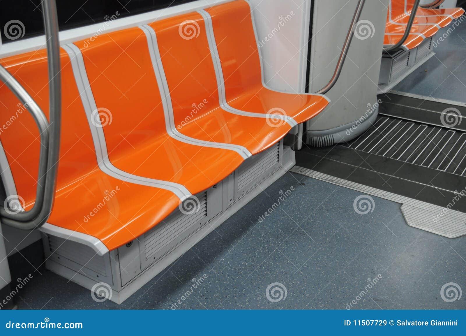 Metro carriage seats royalty free stock images image 11507729 - Carrage metro ...