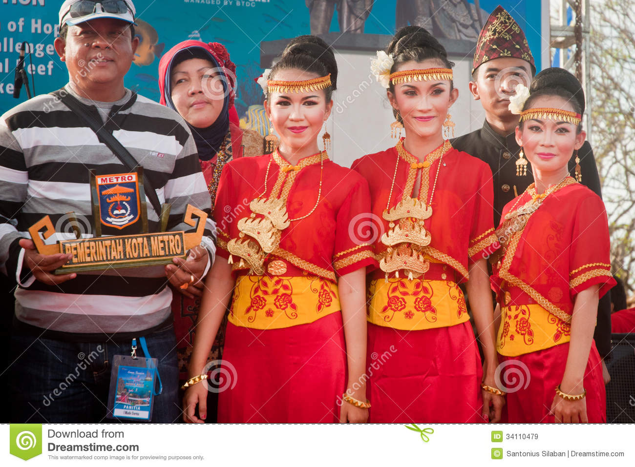 Metro Lampung Dancer Editorial Stock Image Image Of Fight 34110479