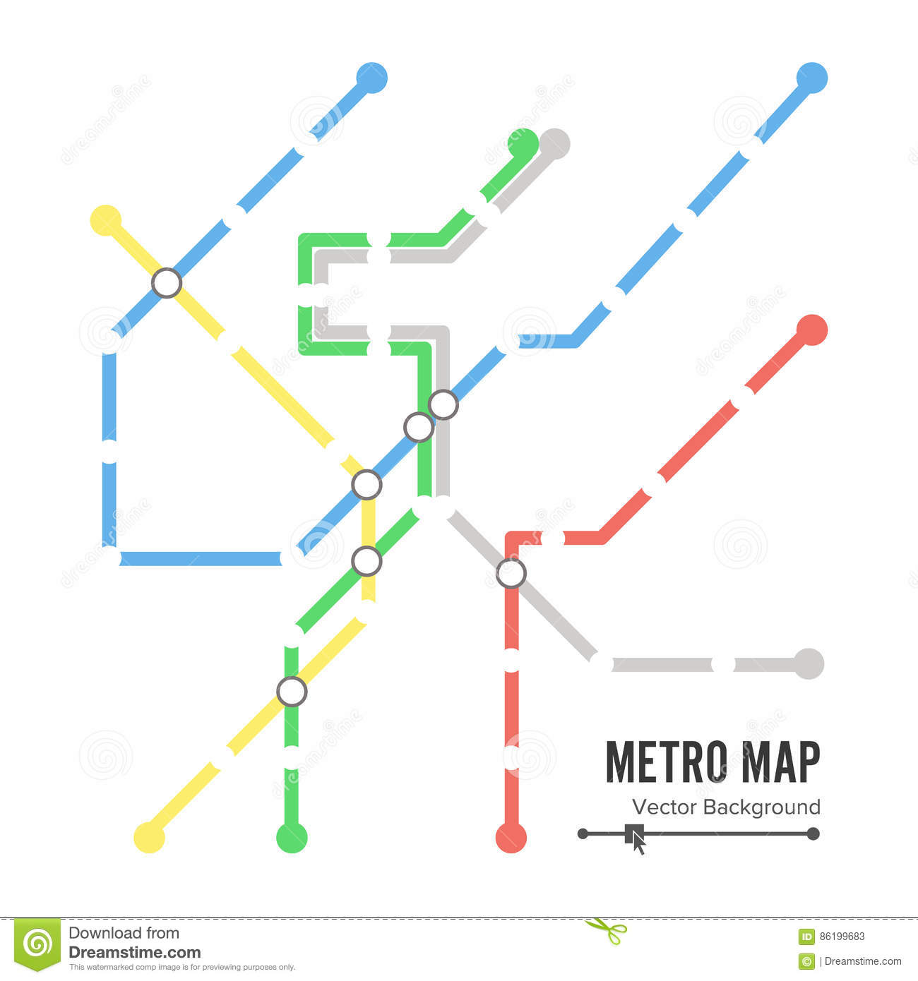 Subway Stations Map.Metro Map Vector Subway Map Design Template Colorful Background With Stations Stock Vector Illustration Of Stage Schem 86199683