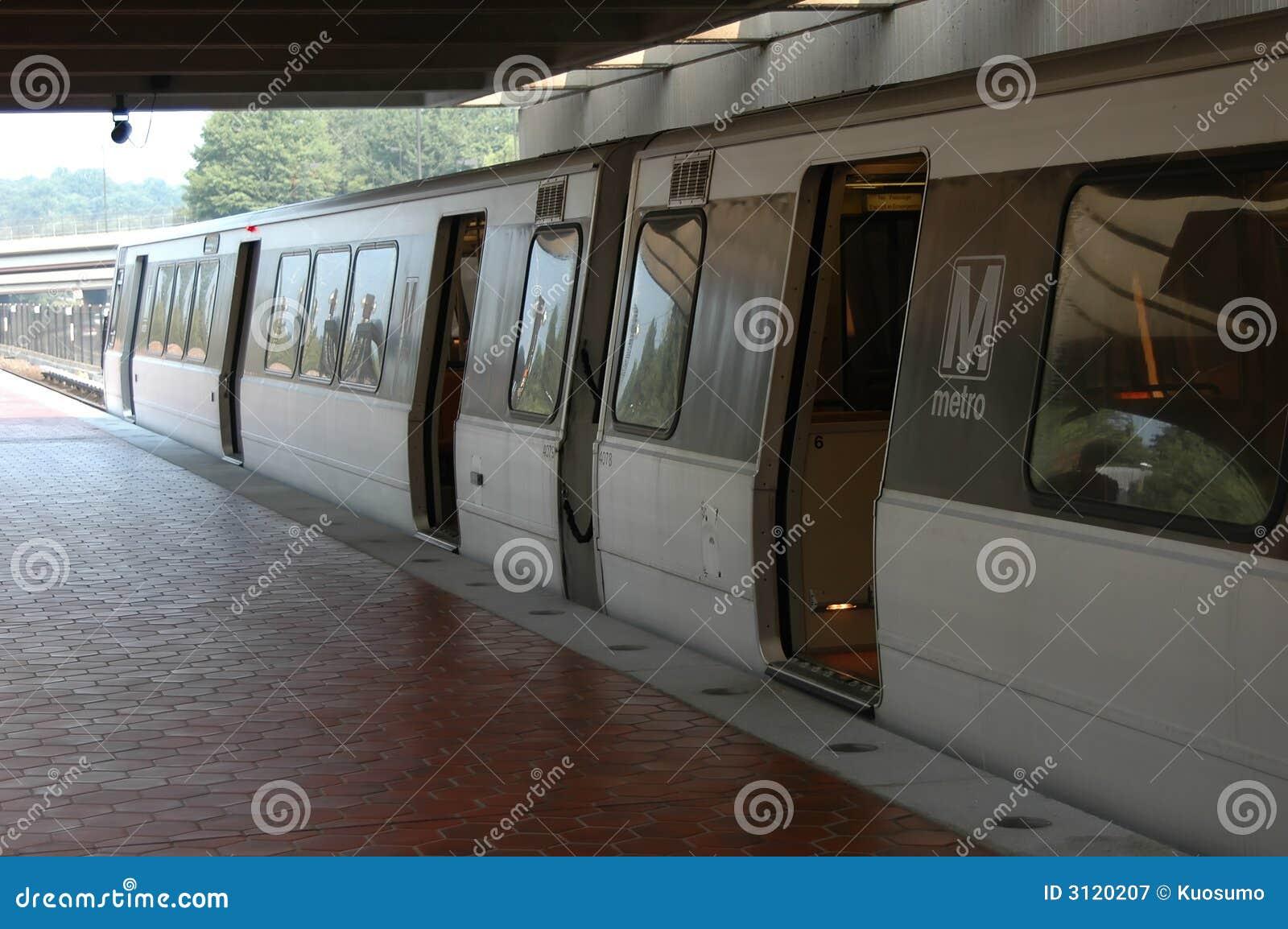 Metro near Washington DC