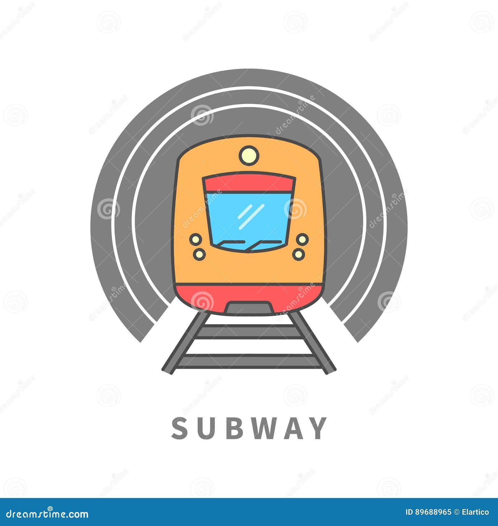 Metro no túnel