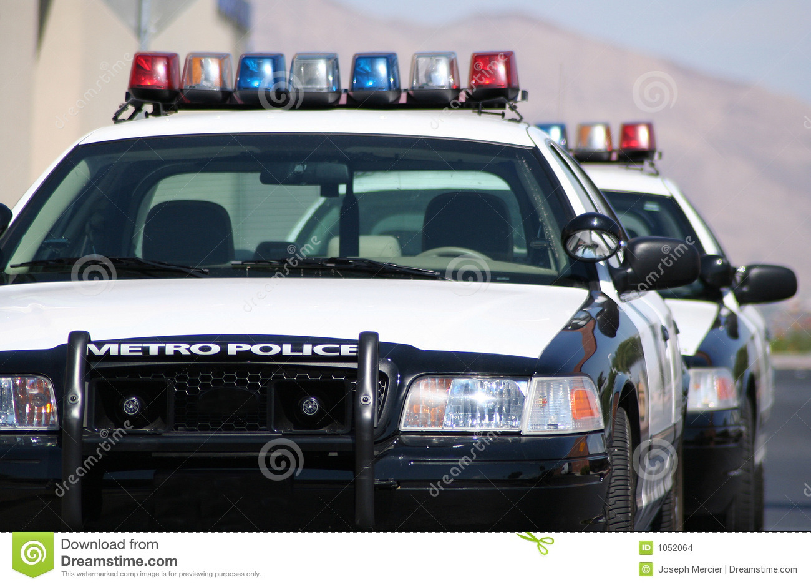Metro Police Cars