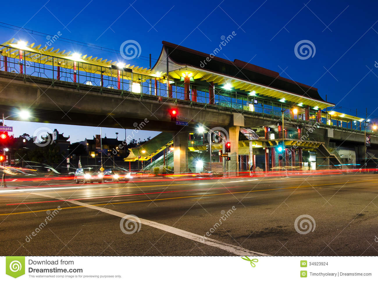 metro station at chinatown stock images image 34923924 Los Angeles Palm Trees los angeles city skyline silhouette vector