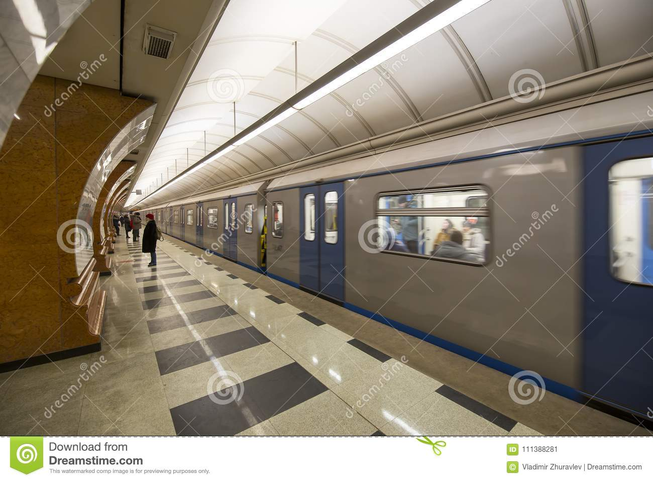 In Moscow, the opening of two metro stations is scheduled for a month on the Butovskaya line 80