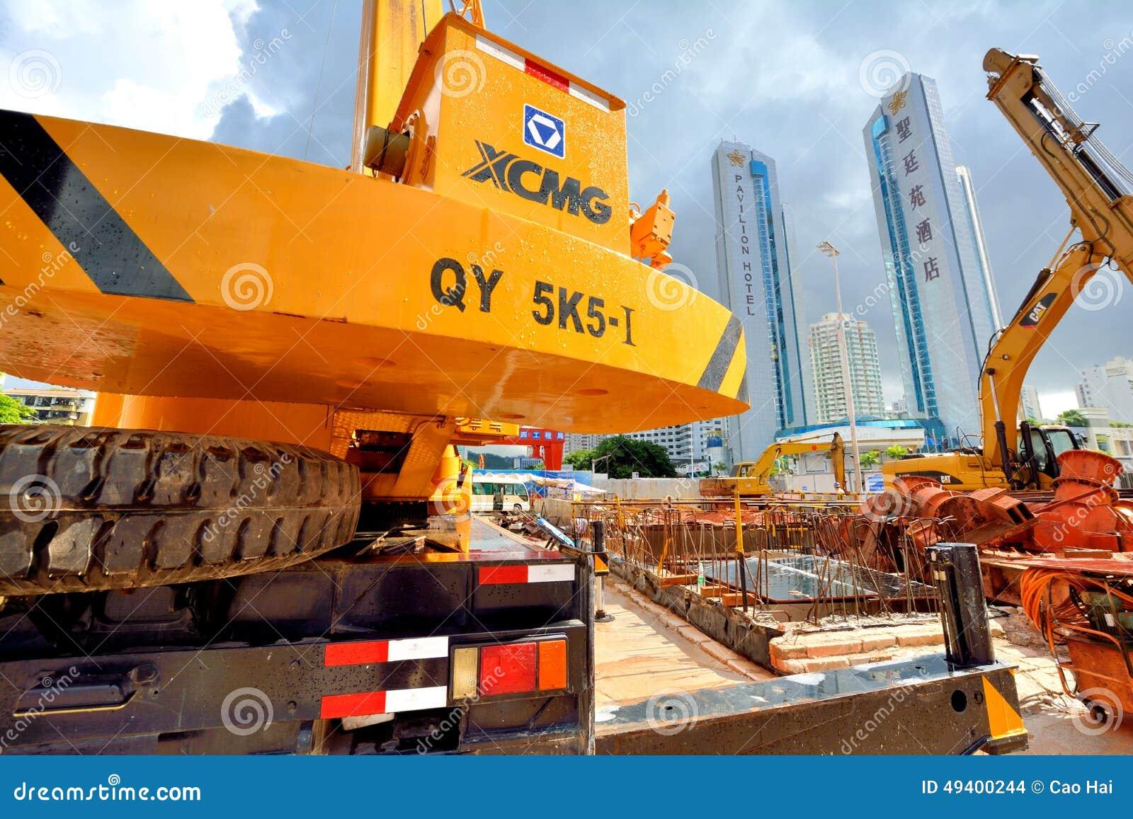 Download Metrobau, Der In Der Stadt Städtisch, Shenzhen, China Arbeitet Redaktionelles Stockbild - Bild von sonderkommando, vollständig: 49400244