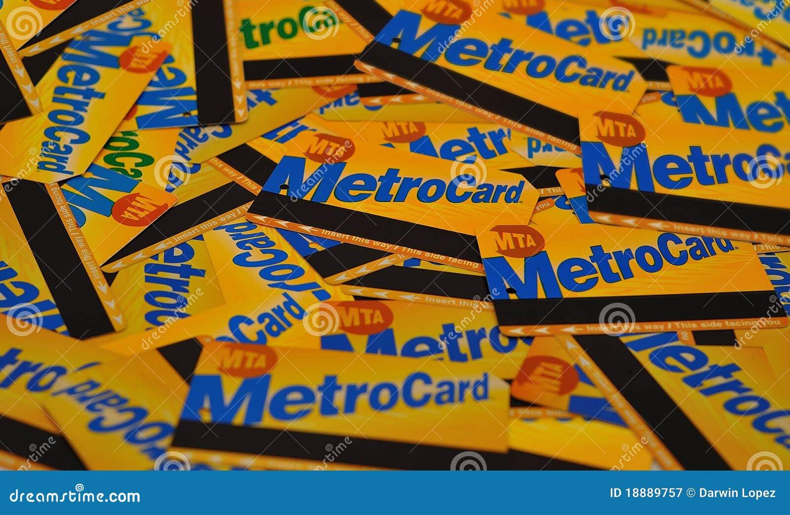 Metrocards nyc