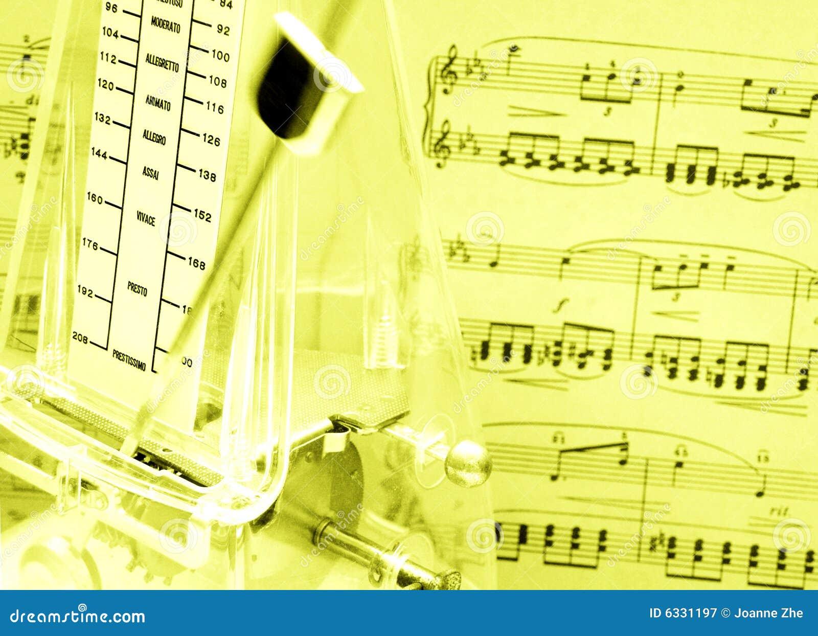Metronomemusikställning
