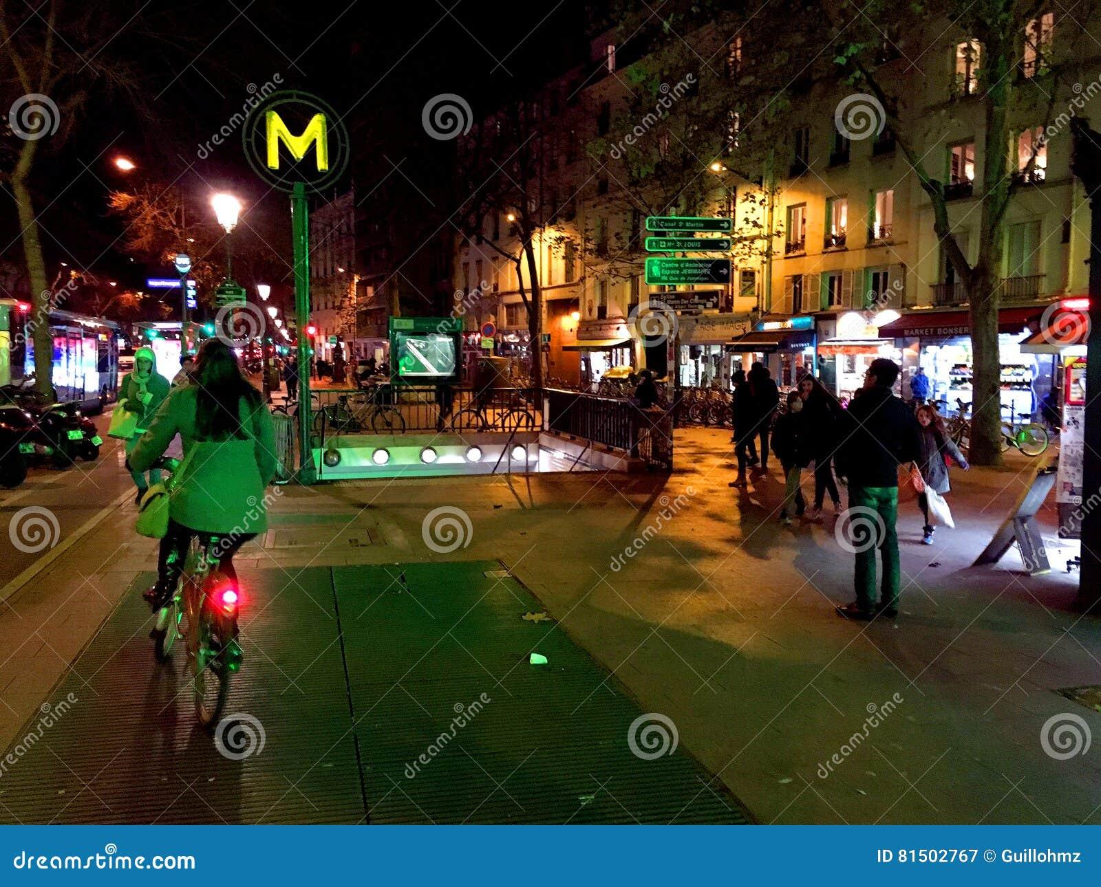 Metropolita stacyjny Paryż