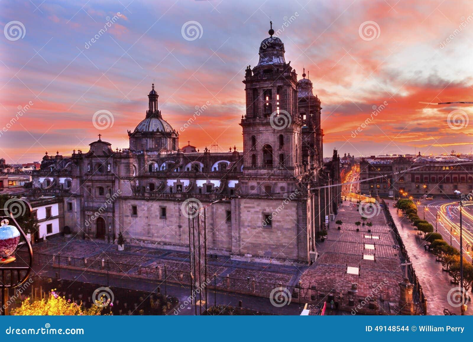 Landmark Of Mexico City Metropolitan Cathedral