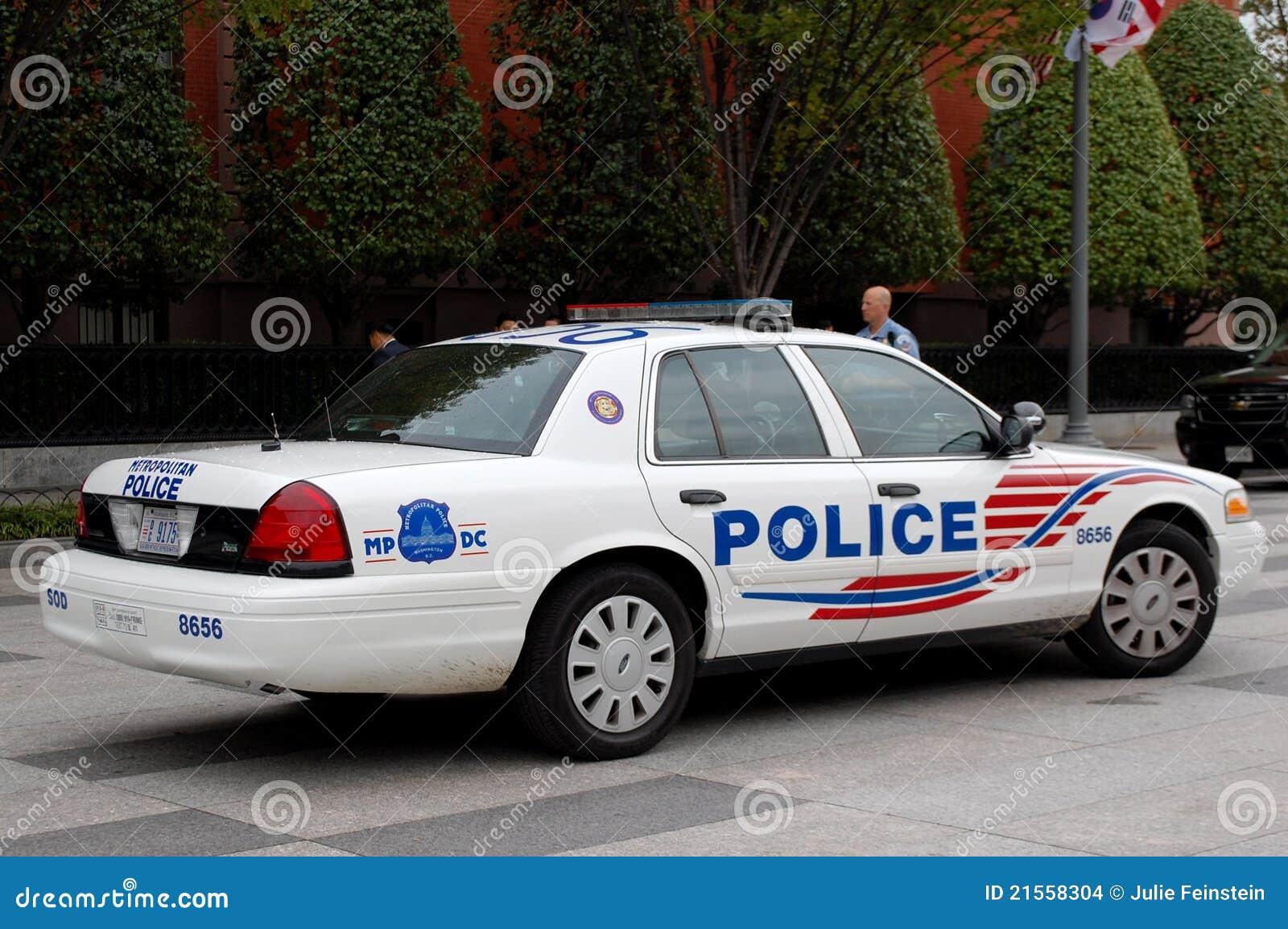 Metropolitan Police Car Washington Dc Editorial Stock