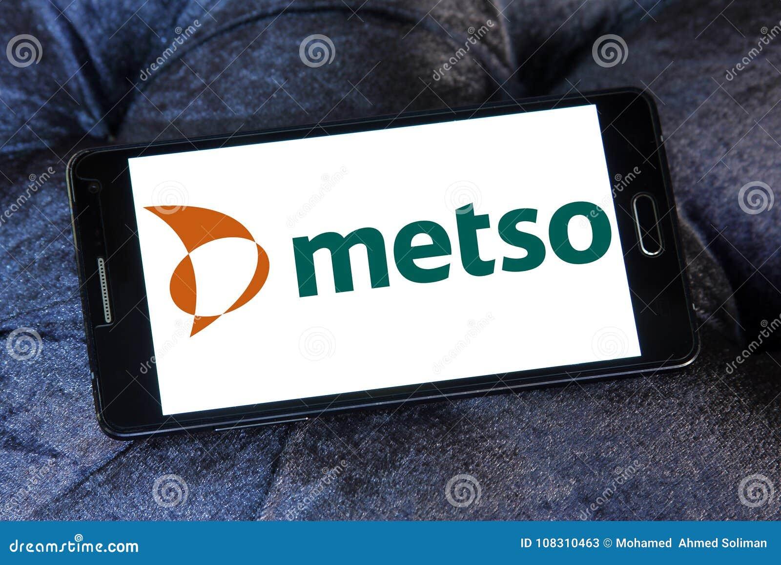 Metso Industrial Machinery Company Logo Editorial Stock