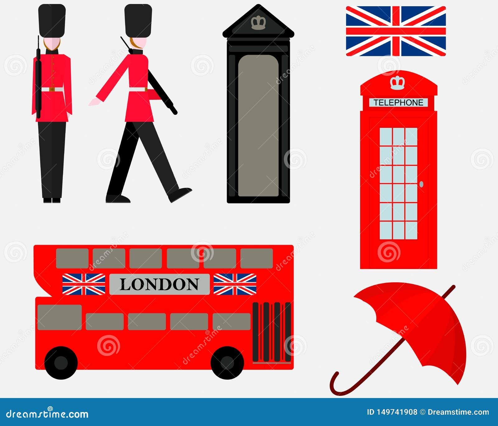 Metta dei simboli degli elementi di Londra