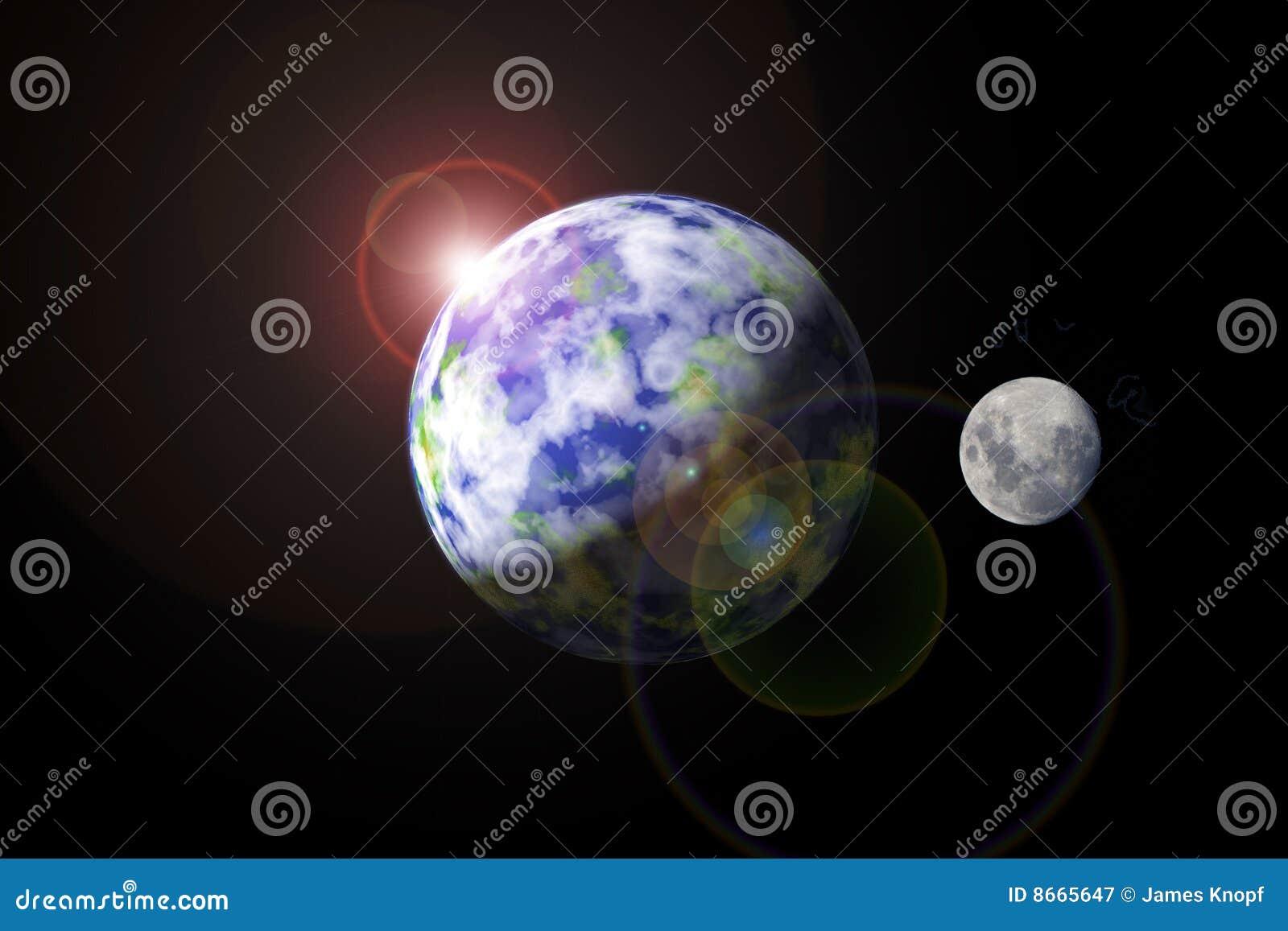 Mettez à la terre la lune