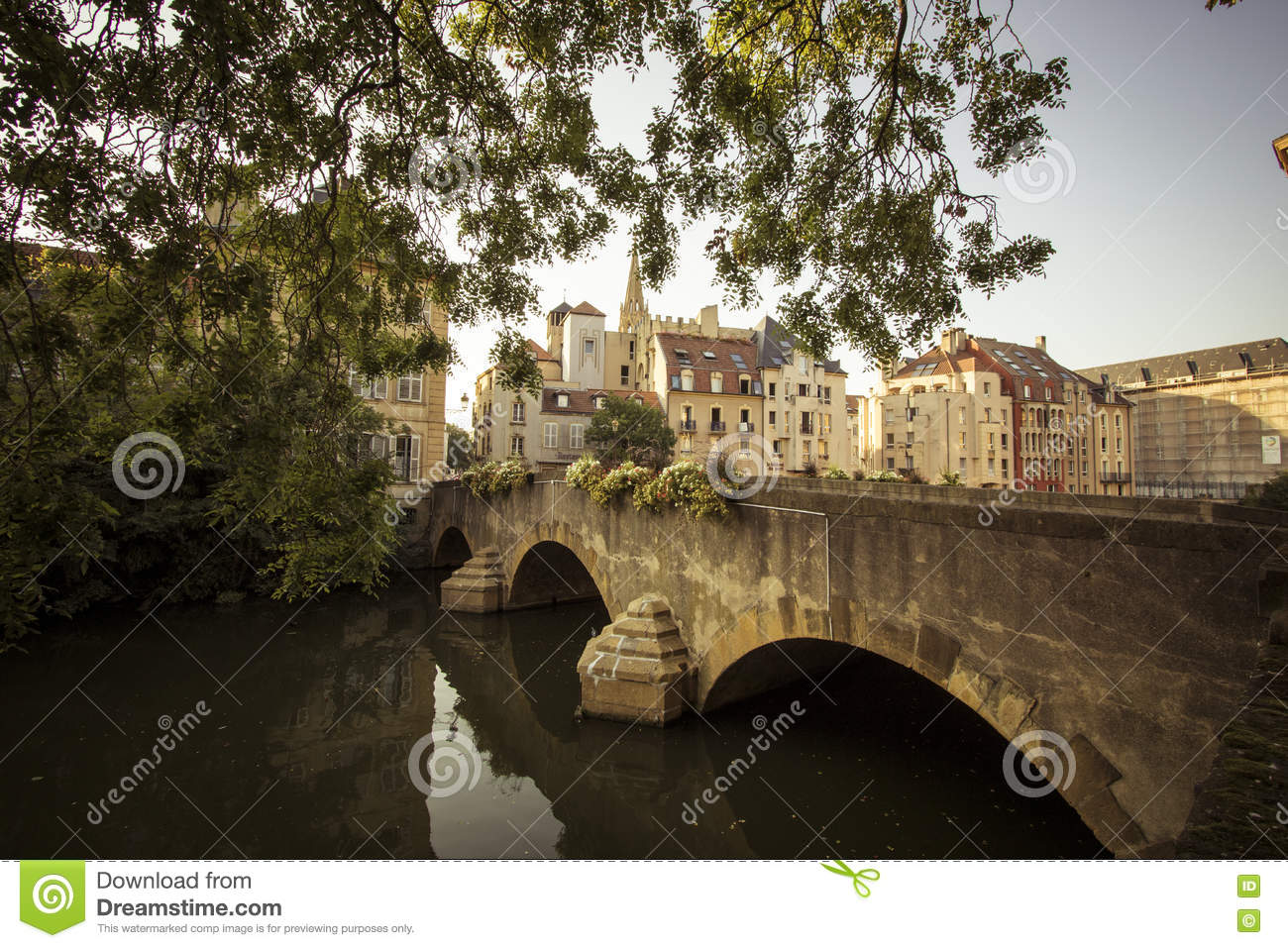 metz france stock photo image of seat cityscape junction 79981456. Black Bedroom Furniture Sets. Home Design Ideas