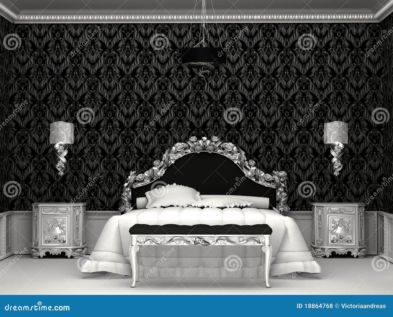 Chambre Baroque Noir Et Violet chambre baroque noir et blanc
