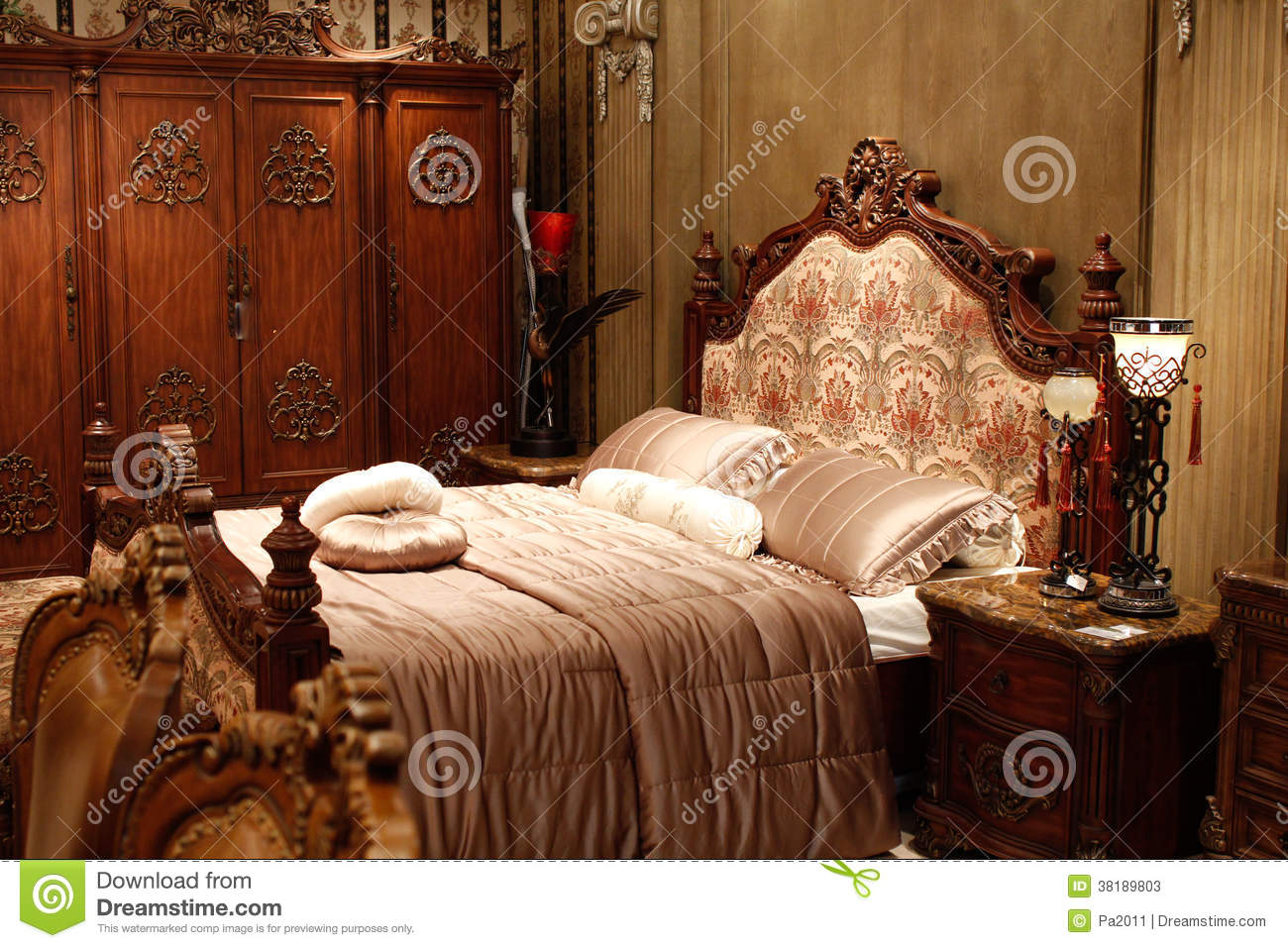 Meubles Classiques Chinois Chambre Coucher Image Stock Image  # Meuble Copie Chinois