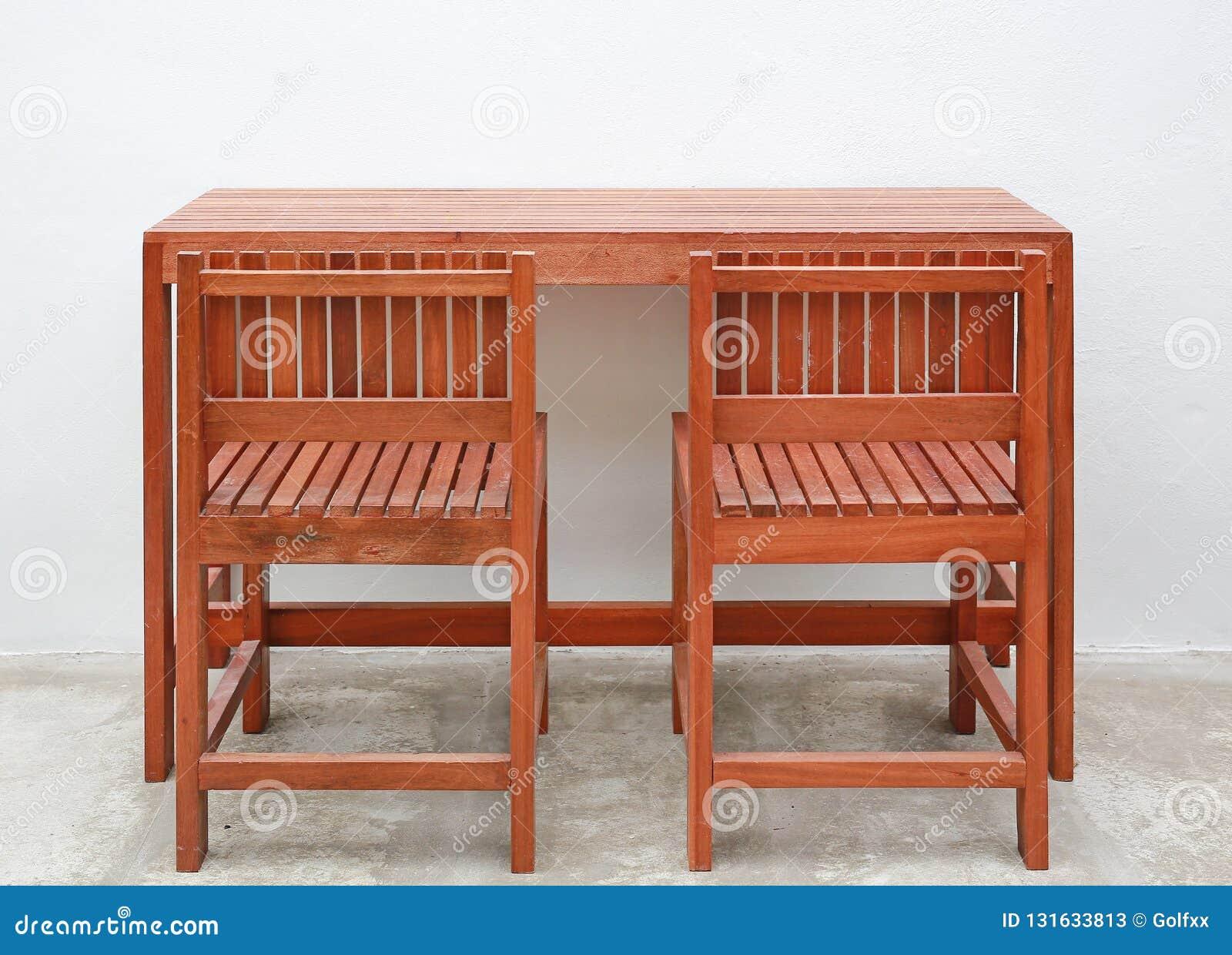 De Bois Ensemble DurChaise Et En Meubles D'intérieur Table 0N8nmwvO