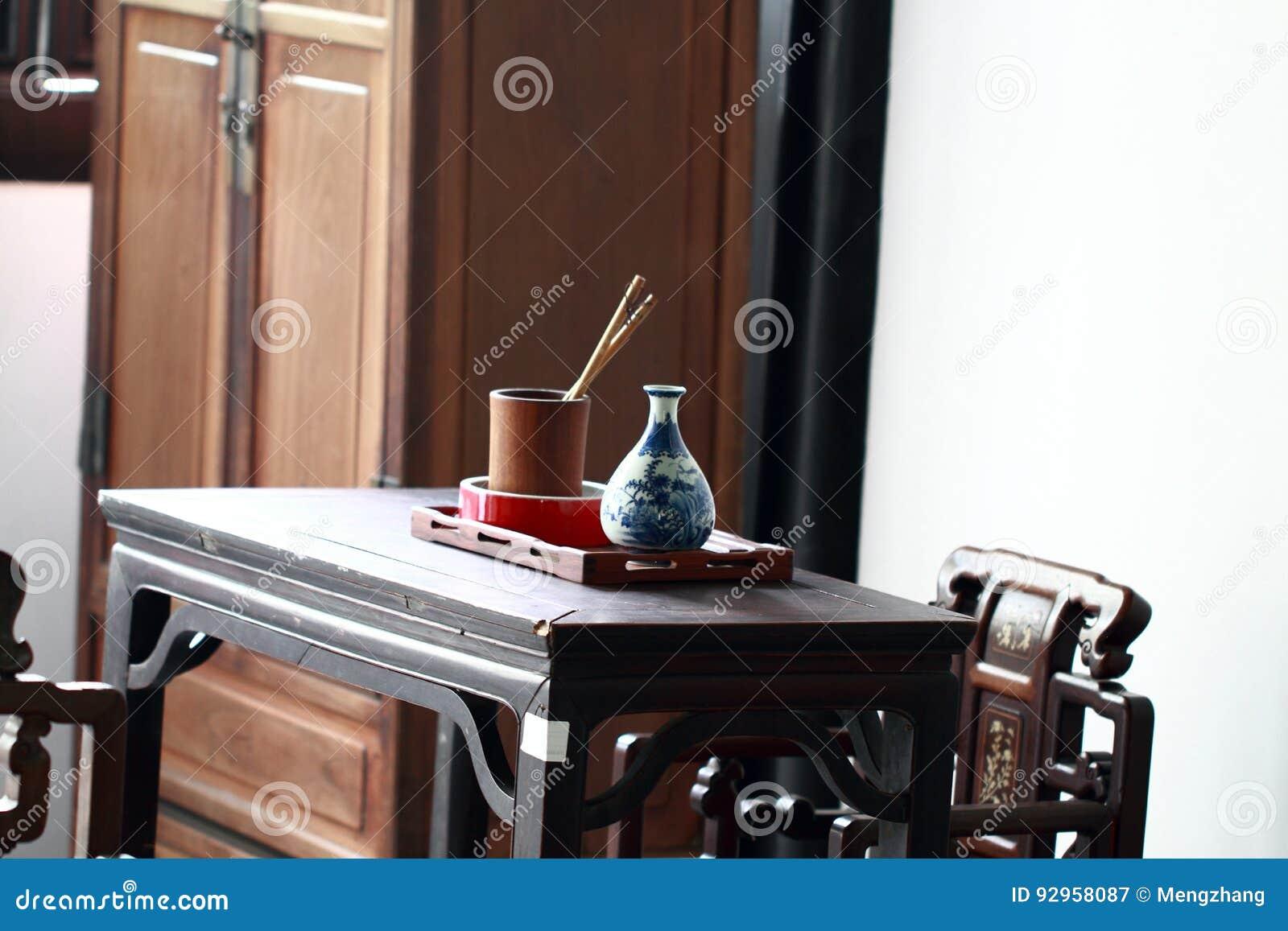 Meubles de bureau antiques bureaux antiques image stock image