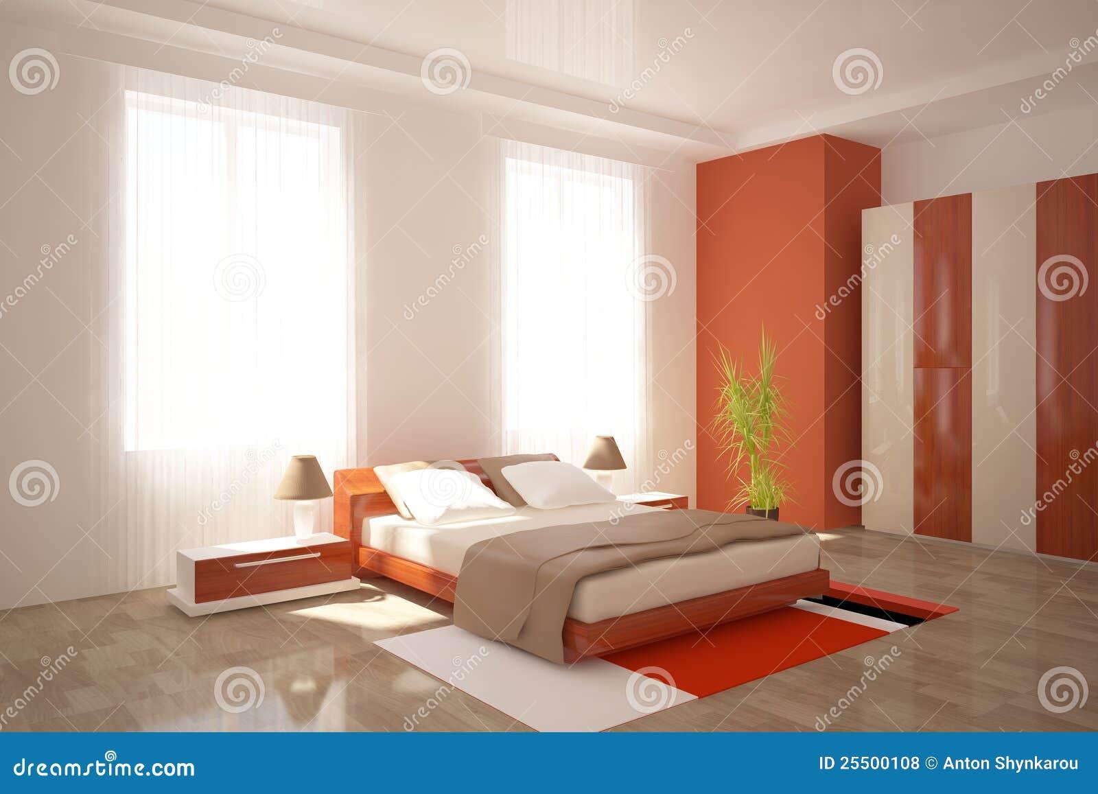 Meubles modernes de chambre coucher photos libres de for Ameublement de chambre a coucher