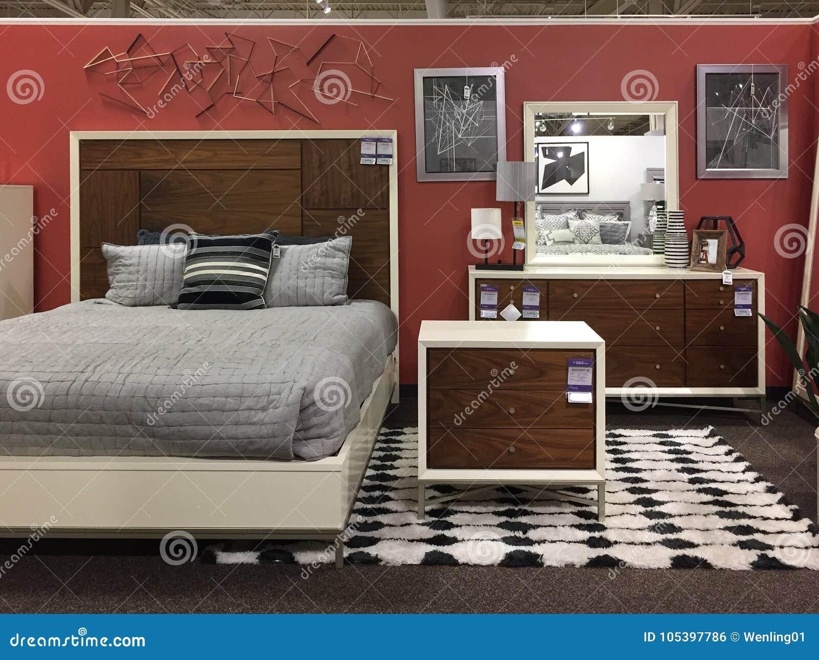 Meubles Modernes De Chambre à Coucher à Vendre Au Magasin TX ...