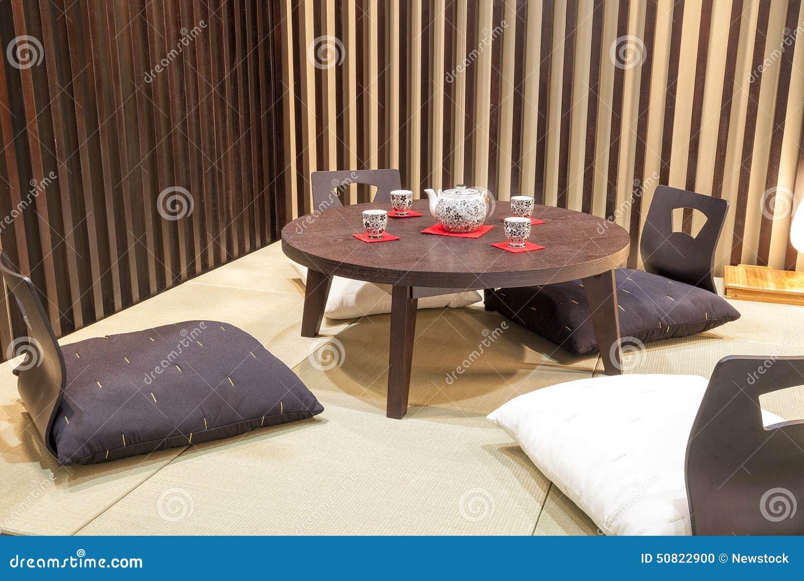 Table À Manger Japonaise meubles solides japonais photo stock. image du mémoire