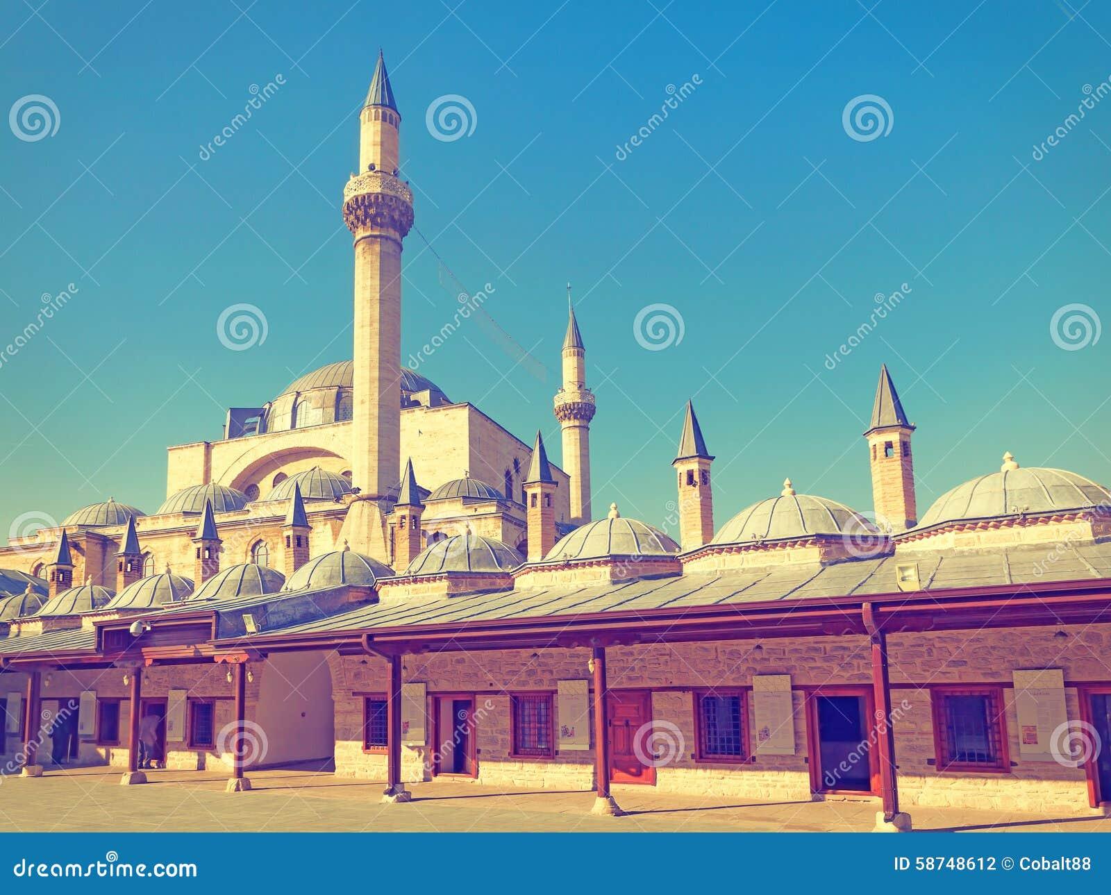 Mevlana Museum Mosque Stock Photo - Image: 58748612