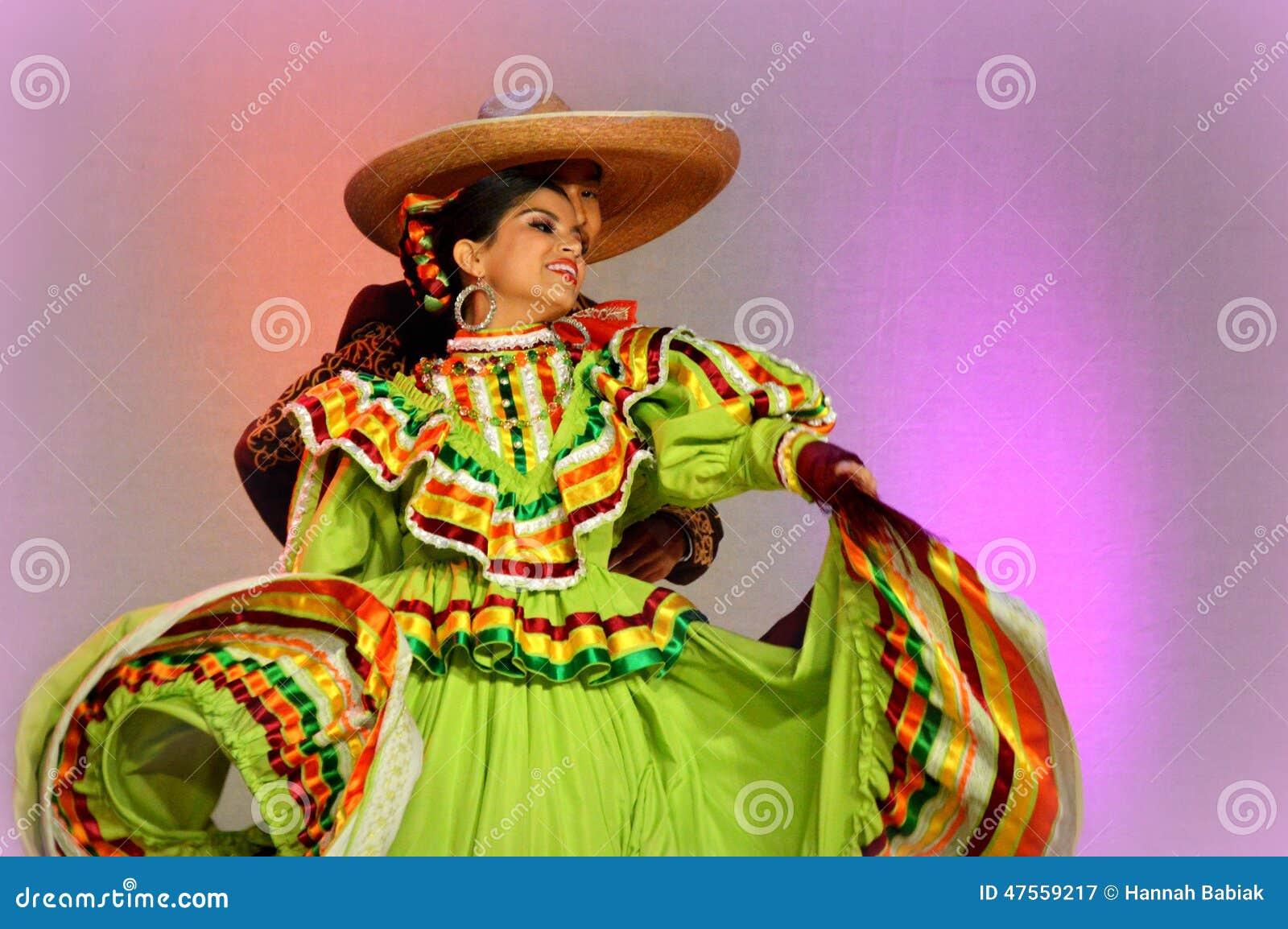 Mexicaans Dansend Paar