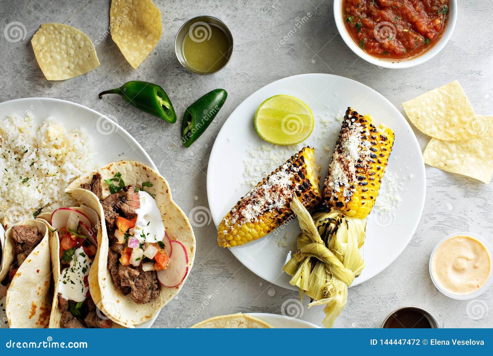 Mexicaans geroosterd graan
