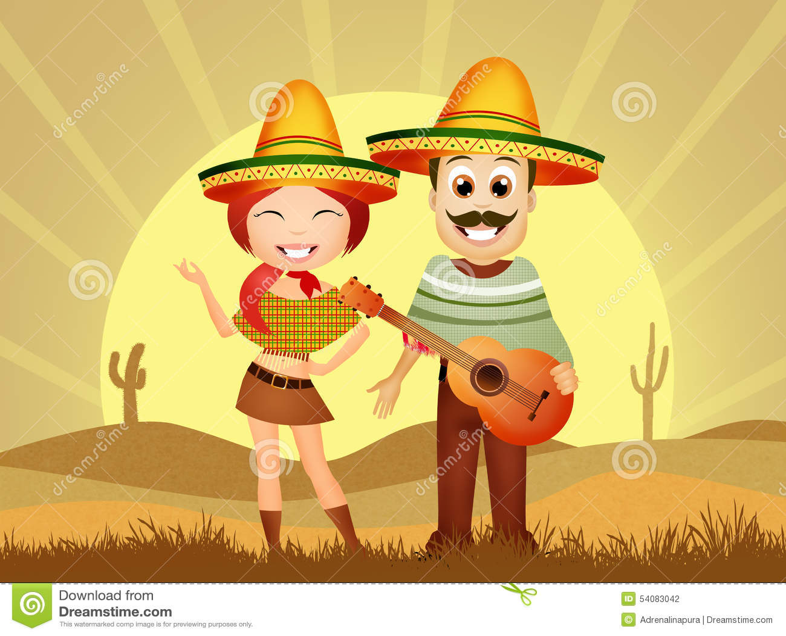 Mexicaans Paar