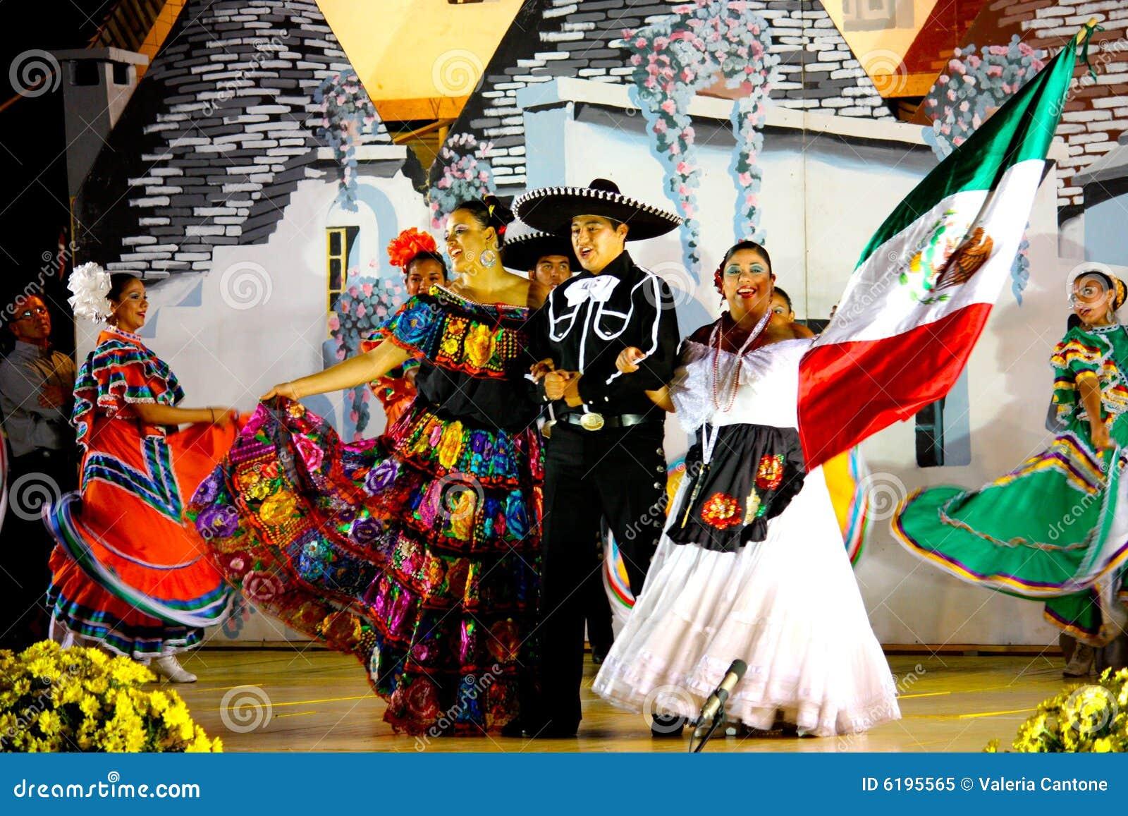 Mexicaanse Dansers en zangers