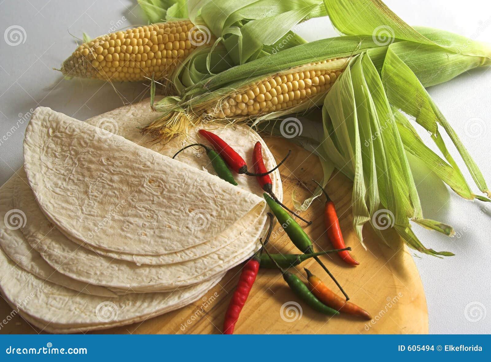 Mexicaanse kokende ingrediënten