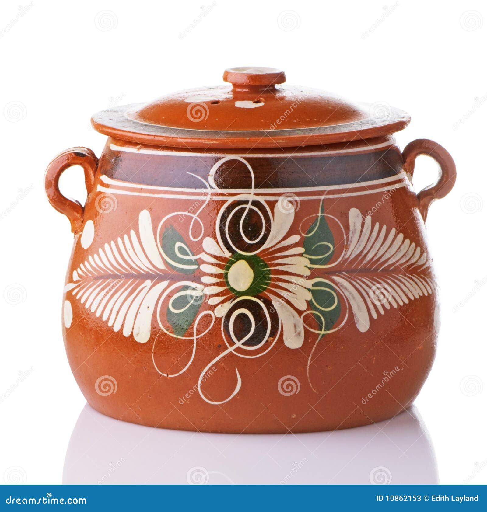 Mexican Bean Pot Stock Photos Image 10862153