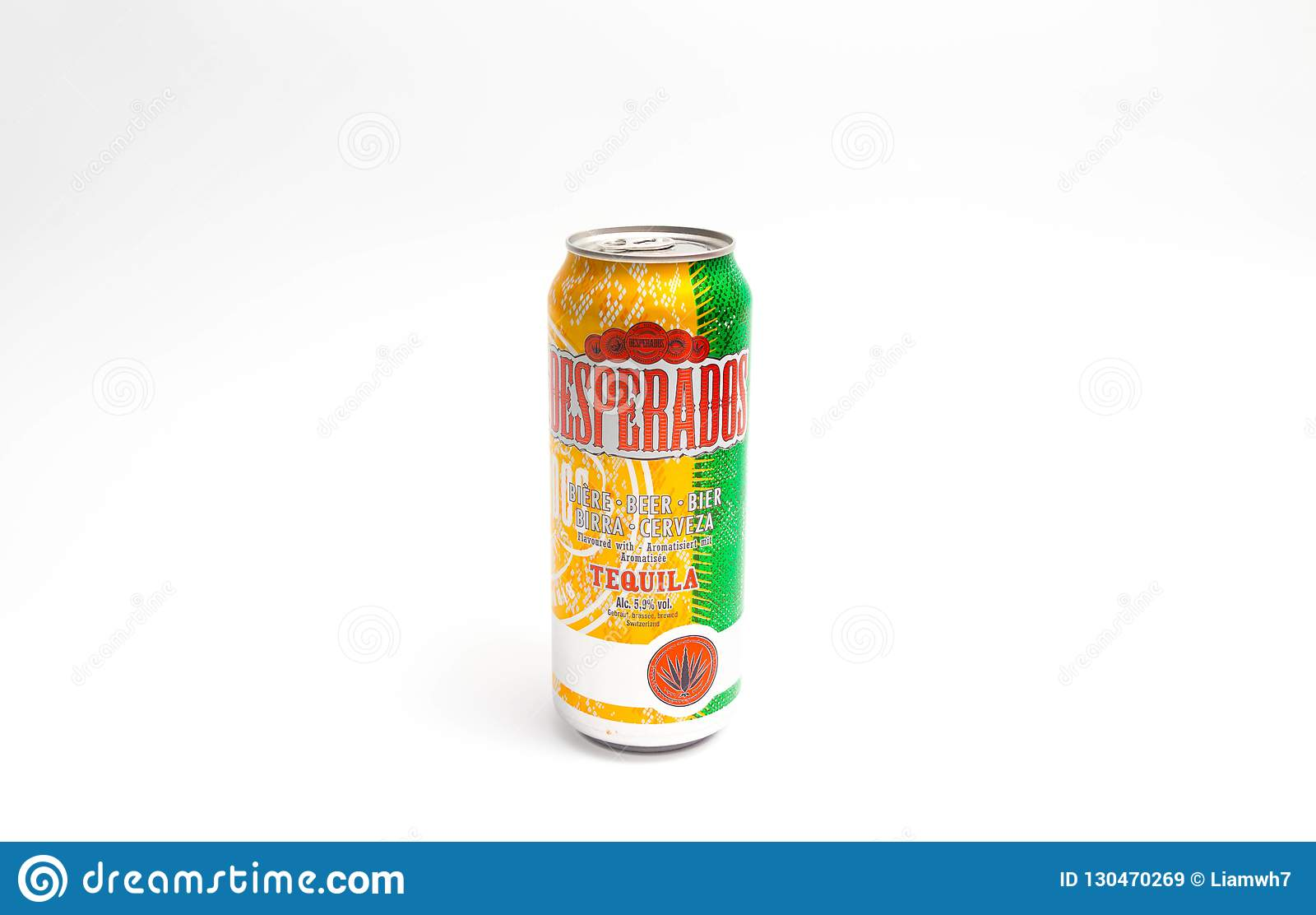 Geneva Switzerland 09 09 18 Desperados Flavored Beer Tequila Can Cerveza Editorial Stock Image Image Of Beer Cider 130470269
