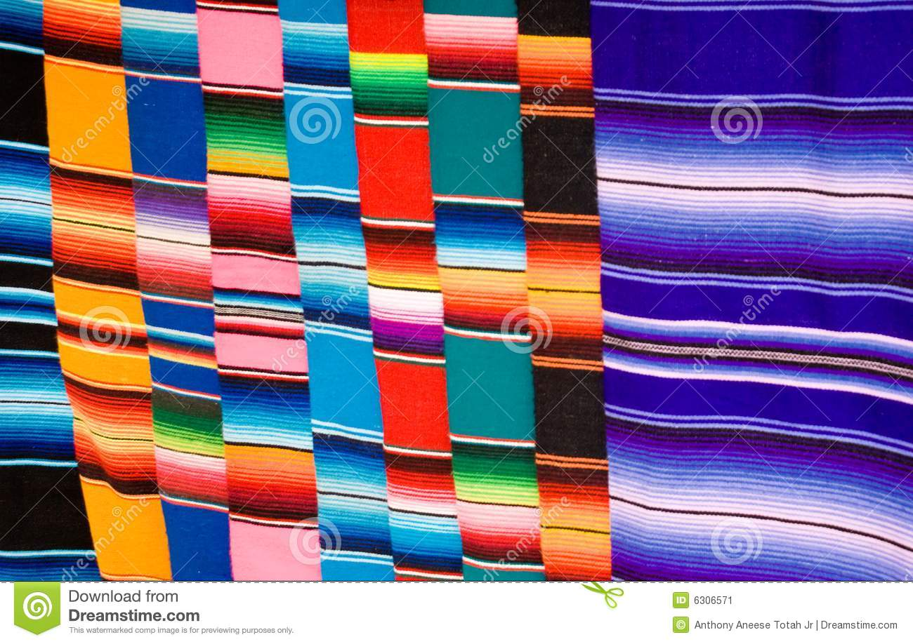 Mexican Blankets Stock Image - Image: 6306571